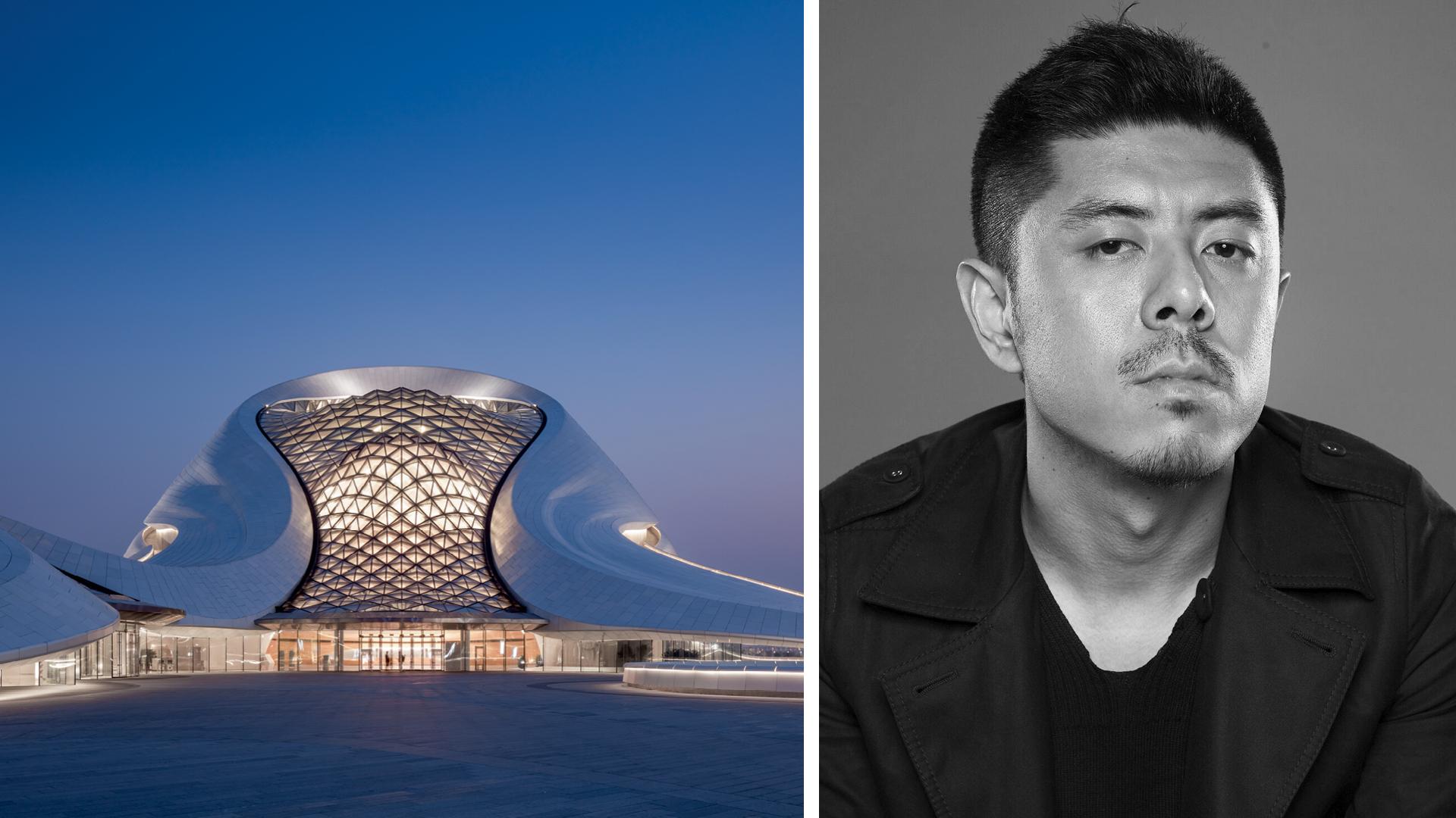 Harbin Opera House; MAD Architects' founder Ma Yansong | STIRworld