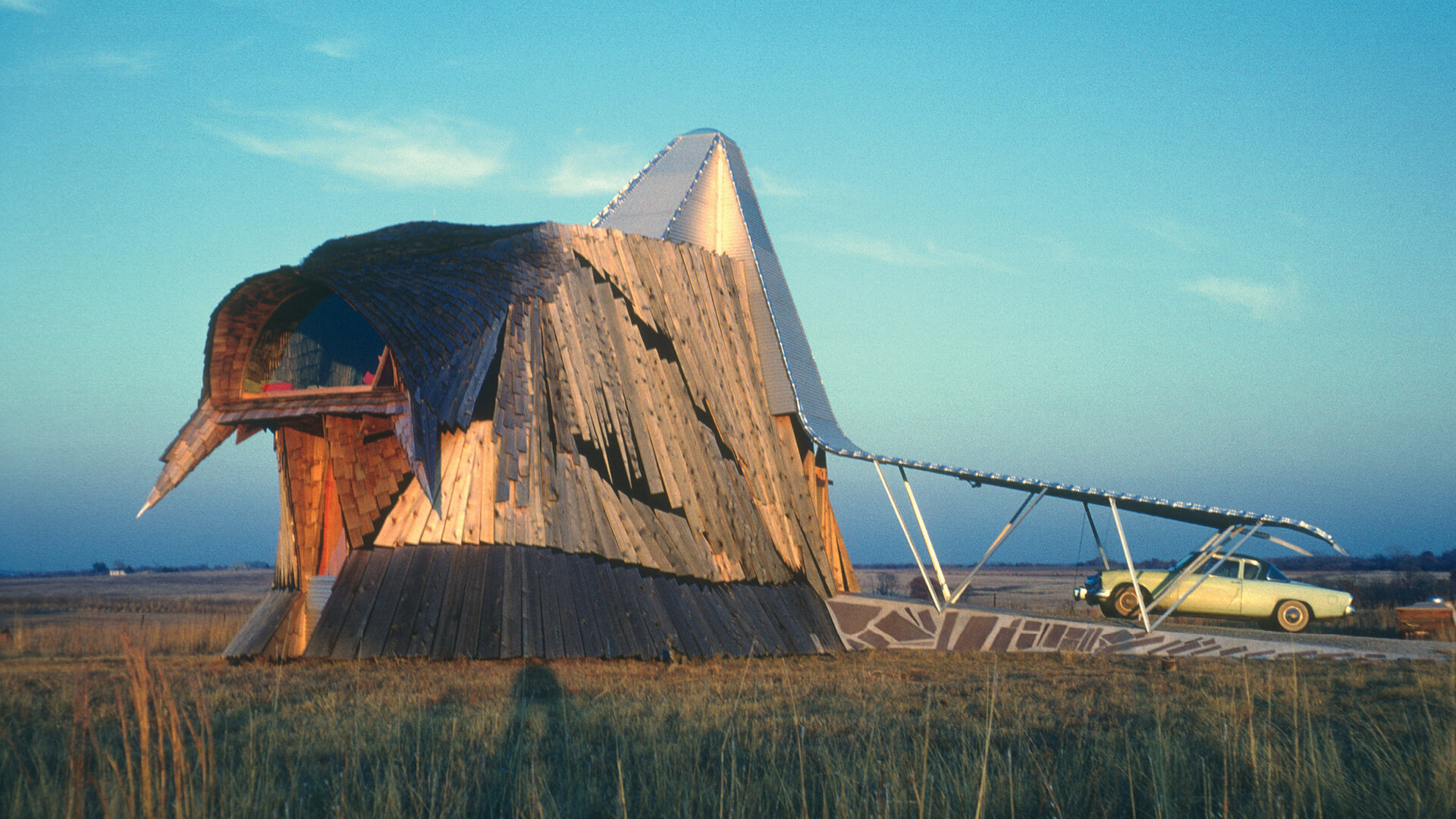 American architect Herb Greene on his Prairie House, envisioned as a bird taking off