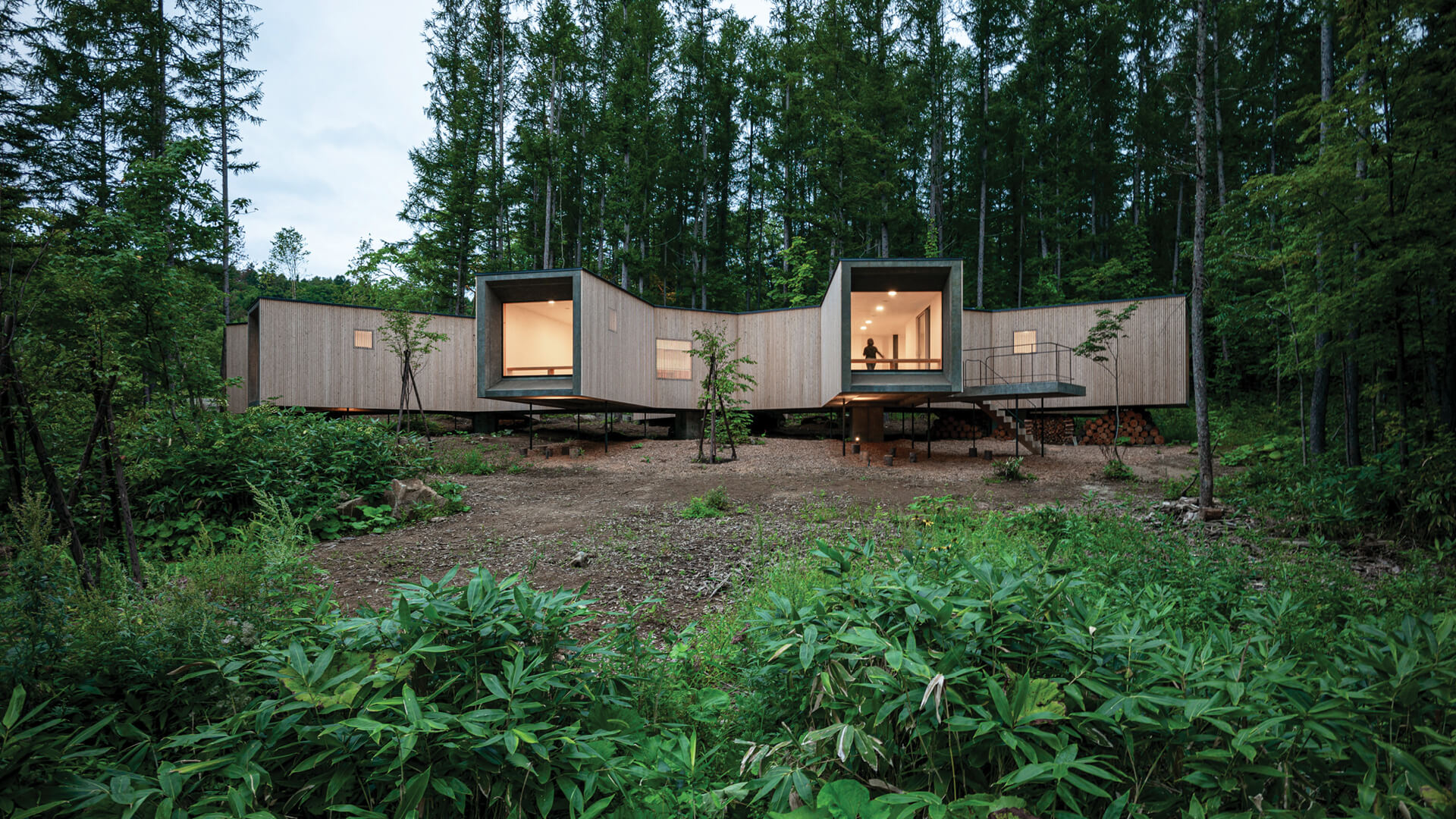 House in the Forest designed by Florian Busch Architects | STIRworld