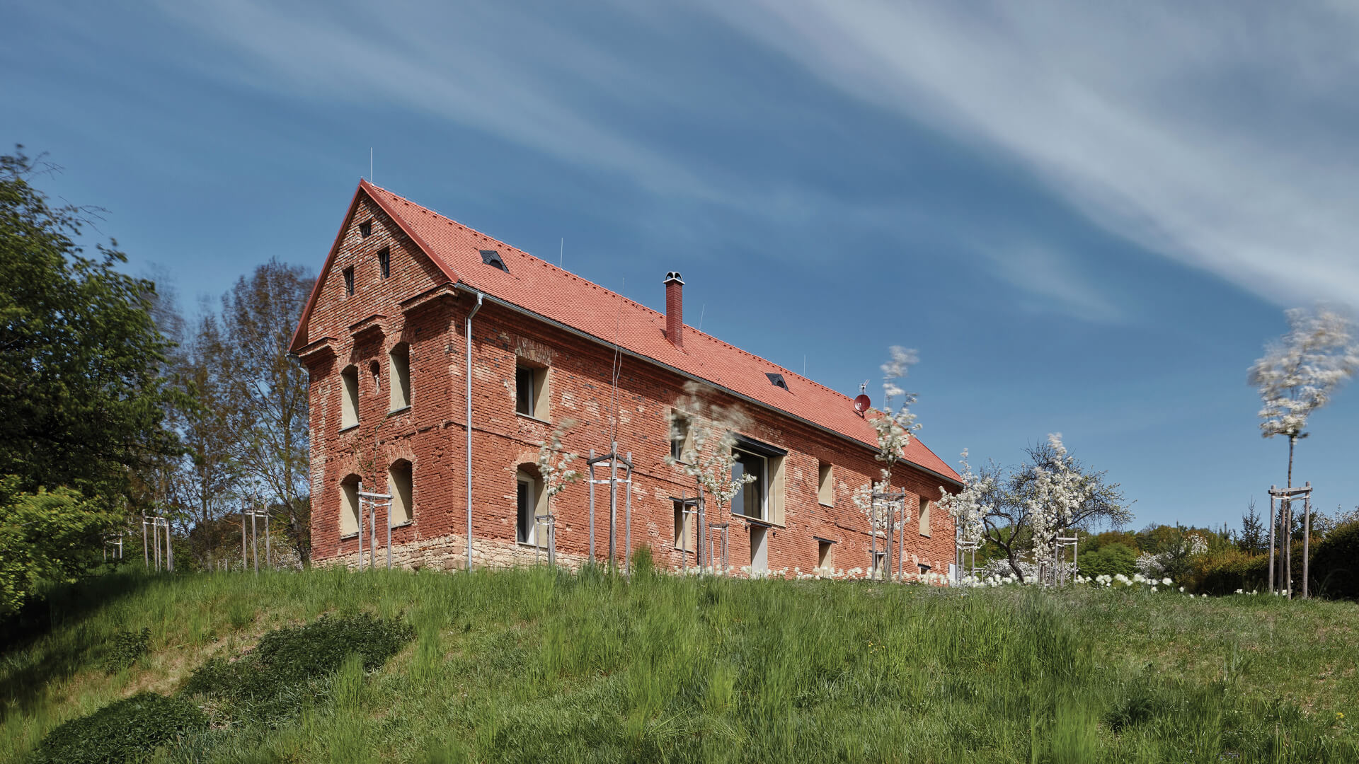 House Inside A Ruin in Czech Republic, renovated by ORA | House Inside A Ruin by ORA | STIRworld