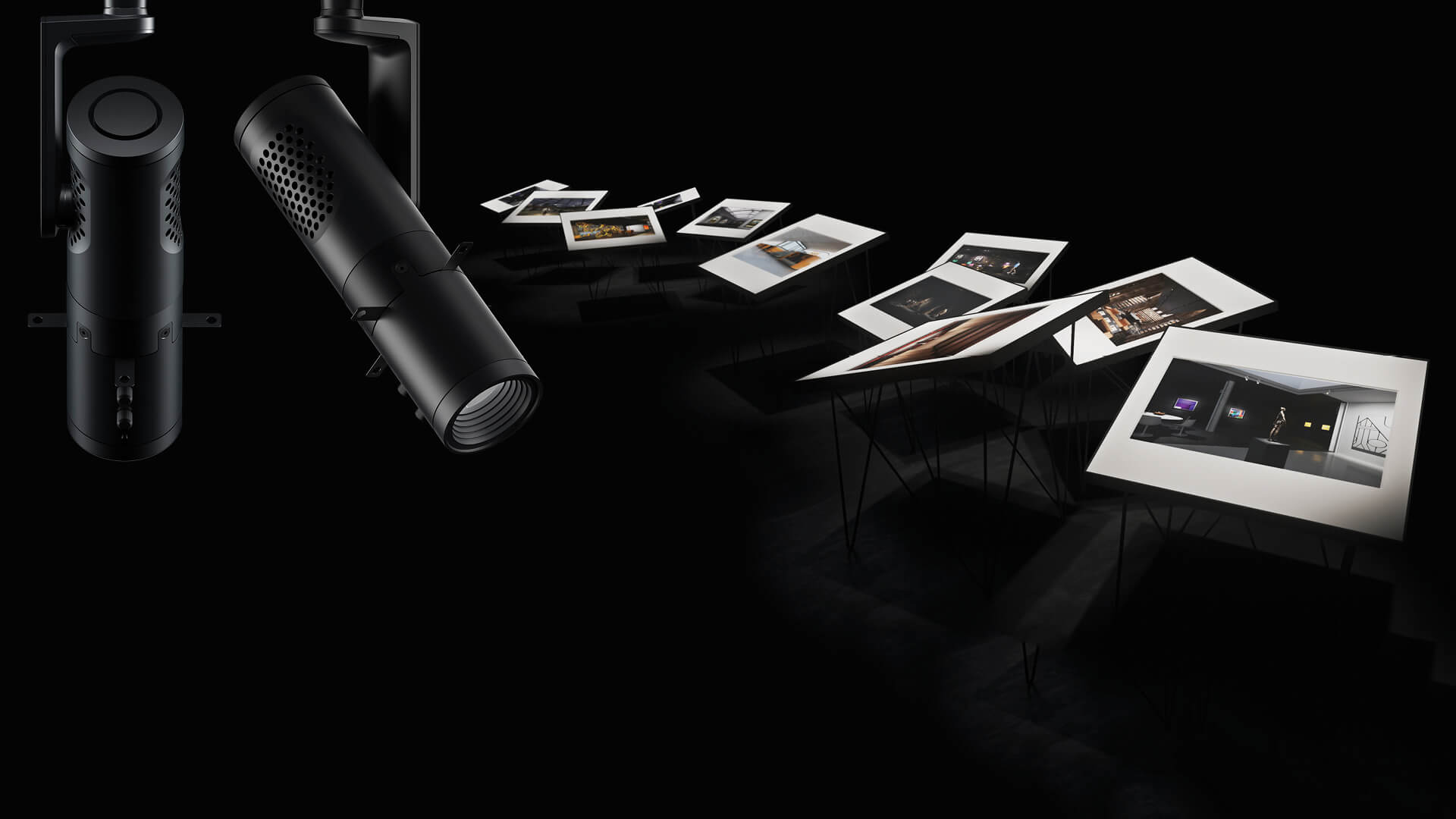 Displaying art to perfection with ERCO Eclipse contour spotlight