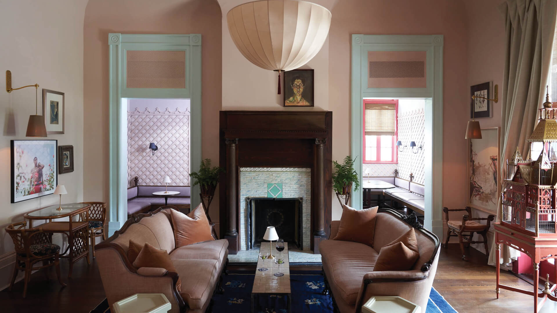 Inside The Chloe, a new hotel, bar and restaurant in New Orleans by decorator Sara Ruffin Costello | The Chloe designed by Sara Costello | STIRworld
