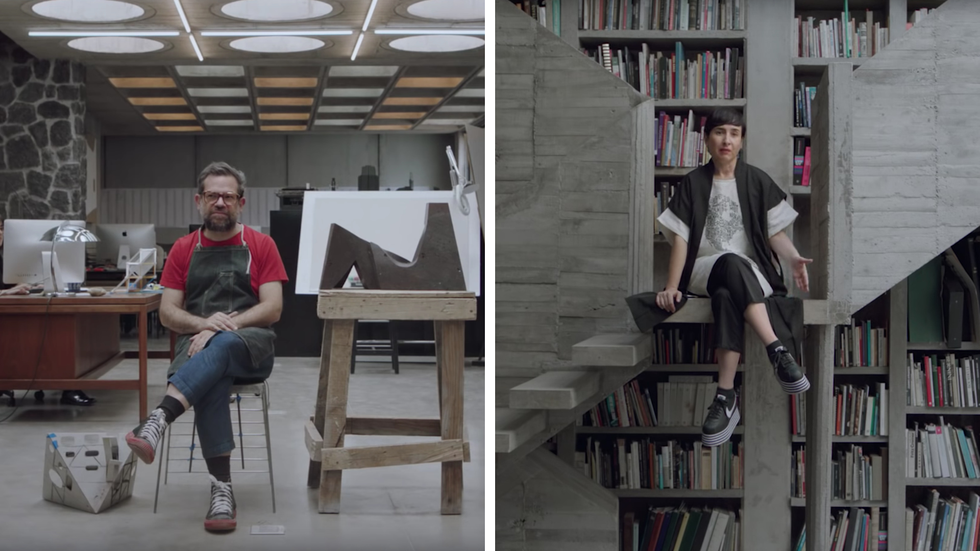 Inside the house of celebrated artist Pedro Reyes and fashion designer Carla Fernández, in Coyoacán, Mexico City | Pedro Reyes & Carla Fernández | In Residence | Nowness | STIRworld