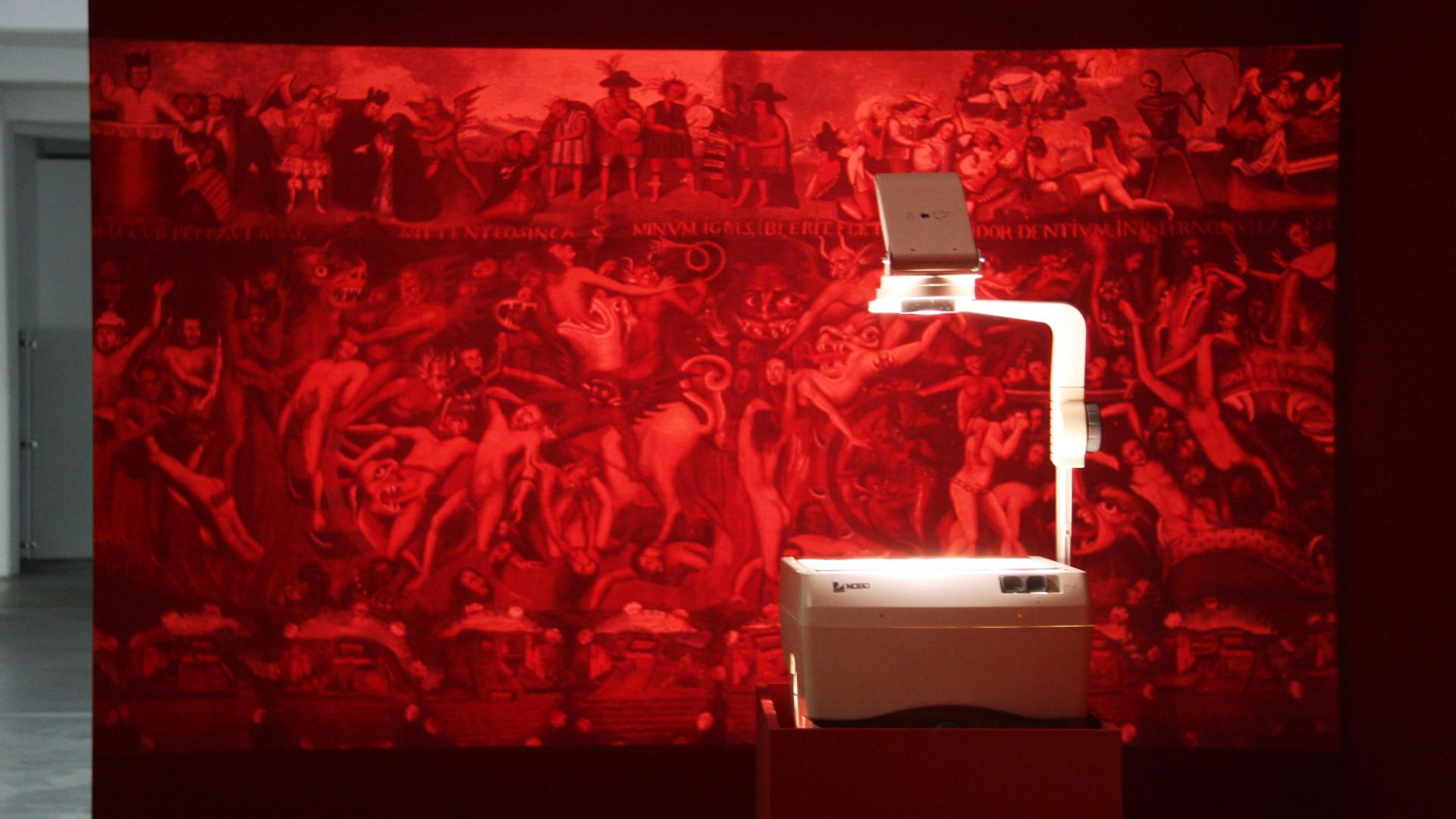 Installation view 1, Radio Carabuco, Andrés Pereira Paz, Künstlerhaus Bethanien| Radio Carabuco| Andrés Pereira Paz| STIR