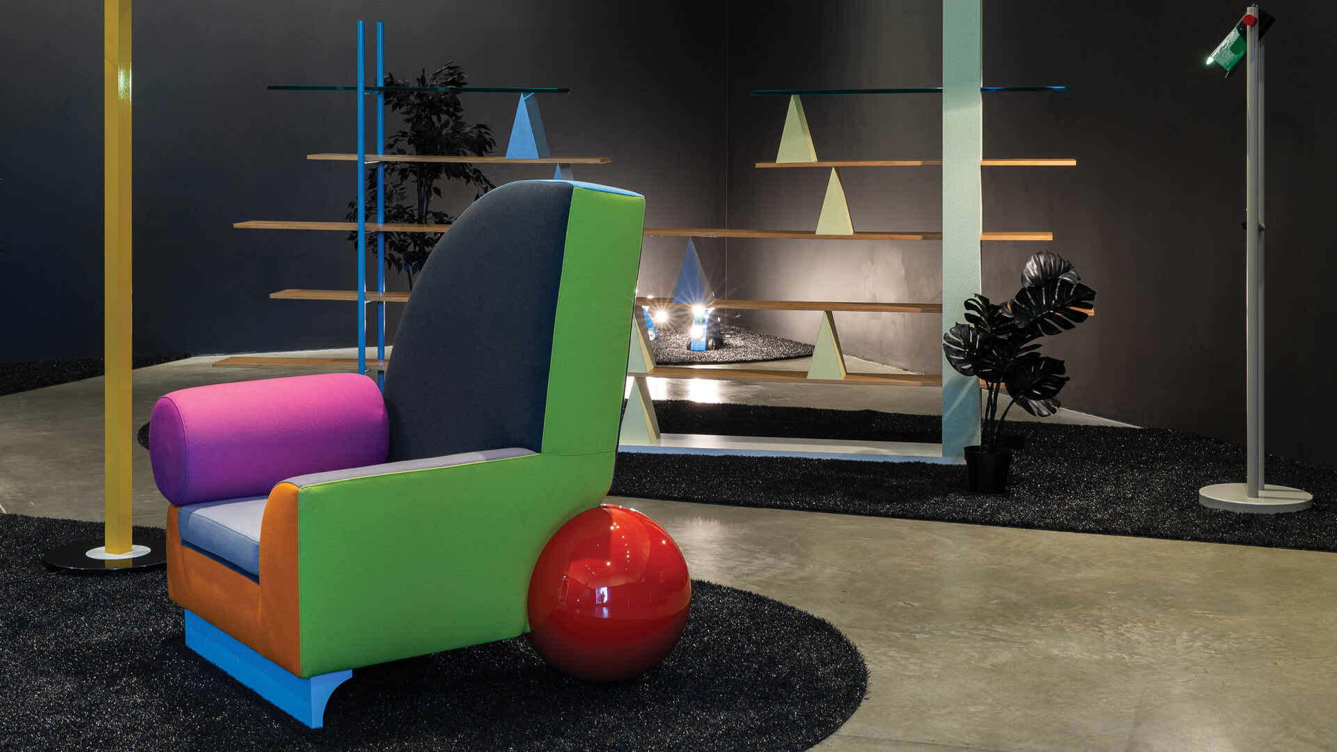 Musing Memphis: Designs loved by David Bowie and Karl Lagerfeld at MK Gallery
