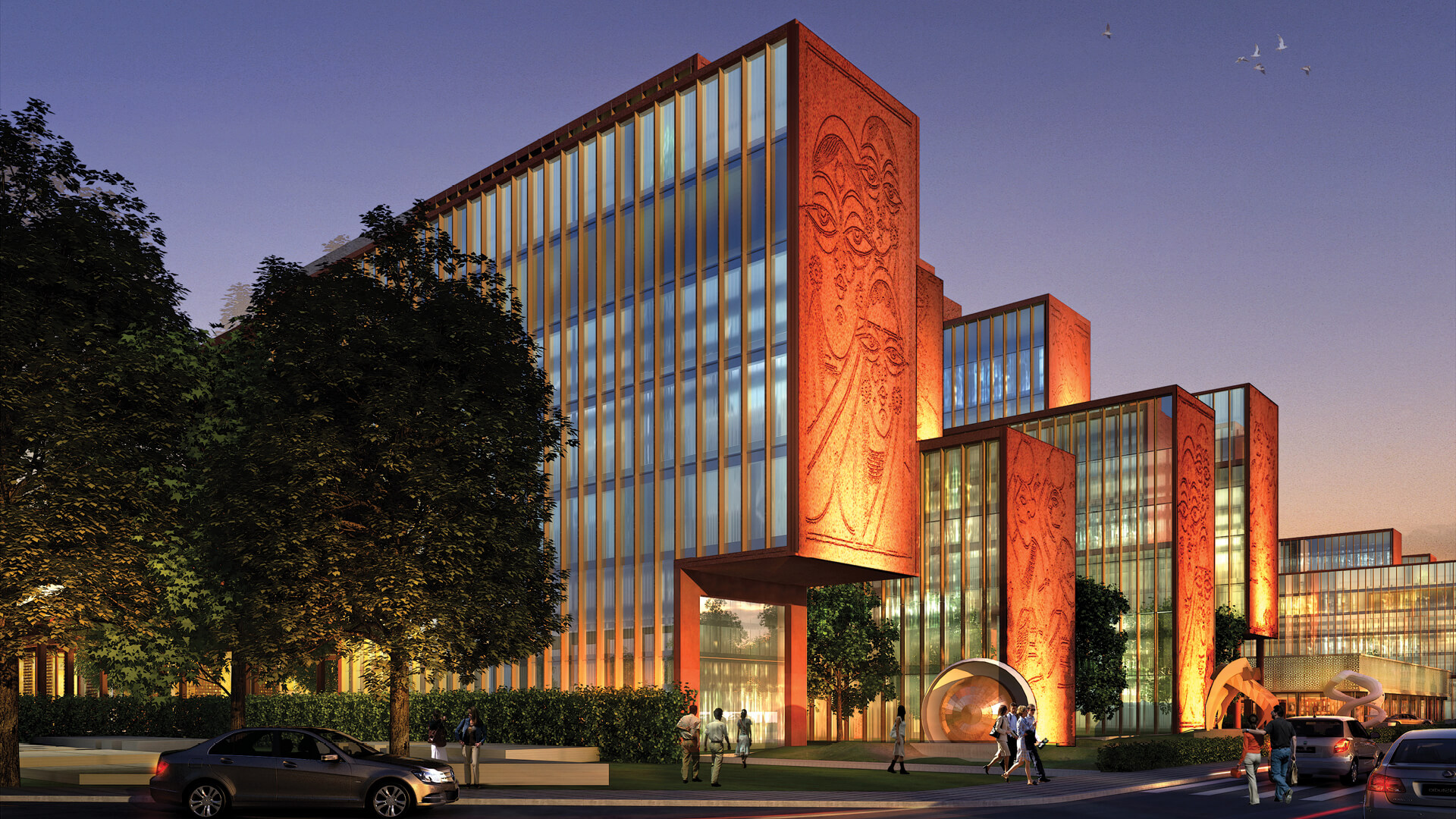 ITC Campus in Kolkata, India, revives traditional Bengali art and culture | ITC Campus by Morphogenesis | STIRworld