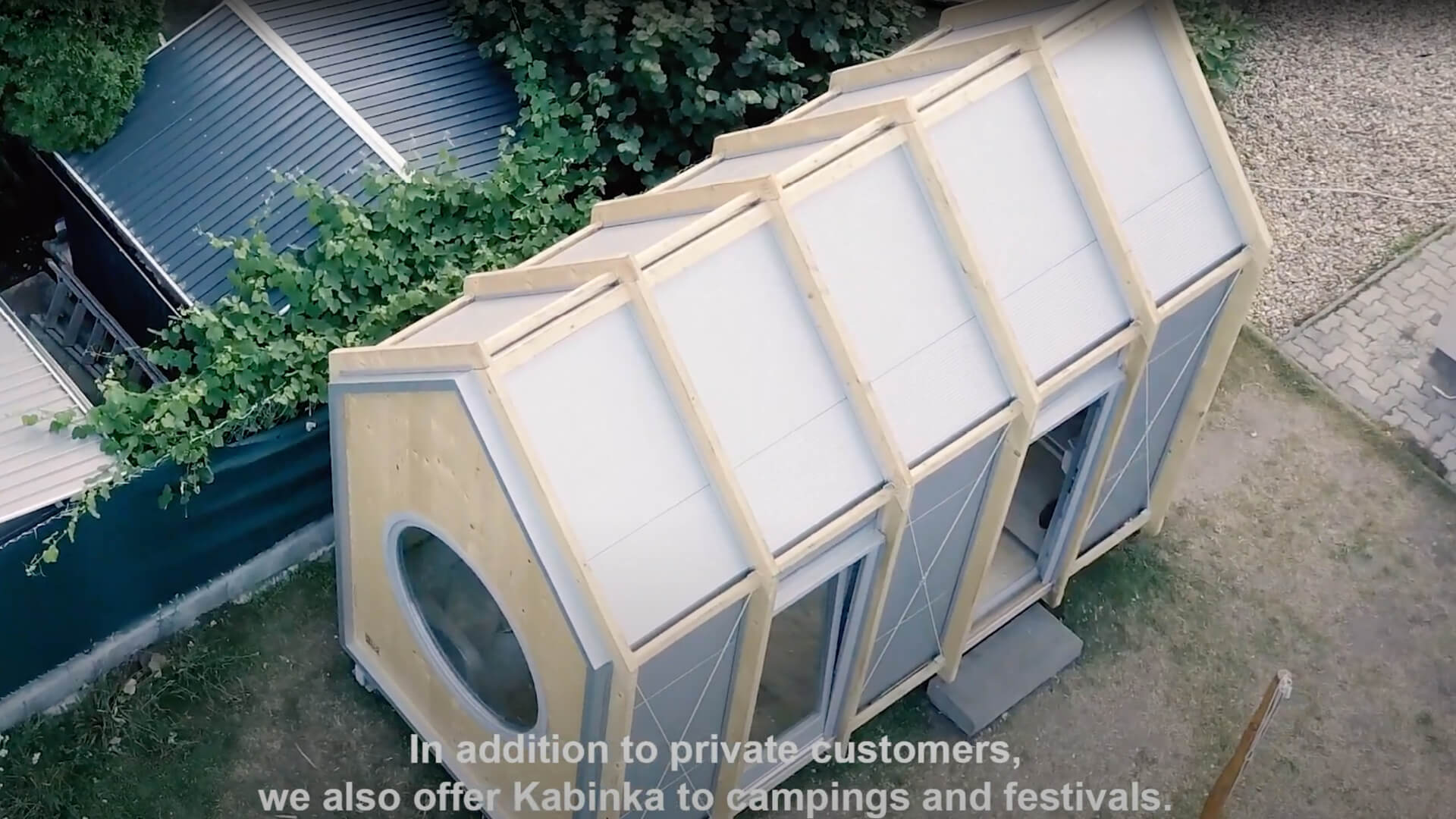Kabinka, a small cabin designed by Hello Wood in Hungary | Kabinka |Hello Wood| STIRworld