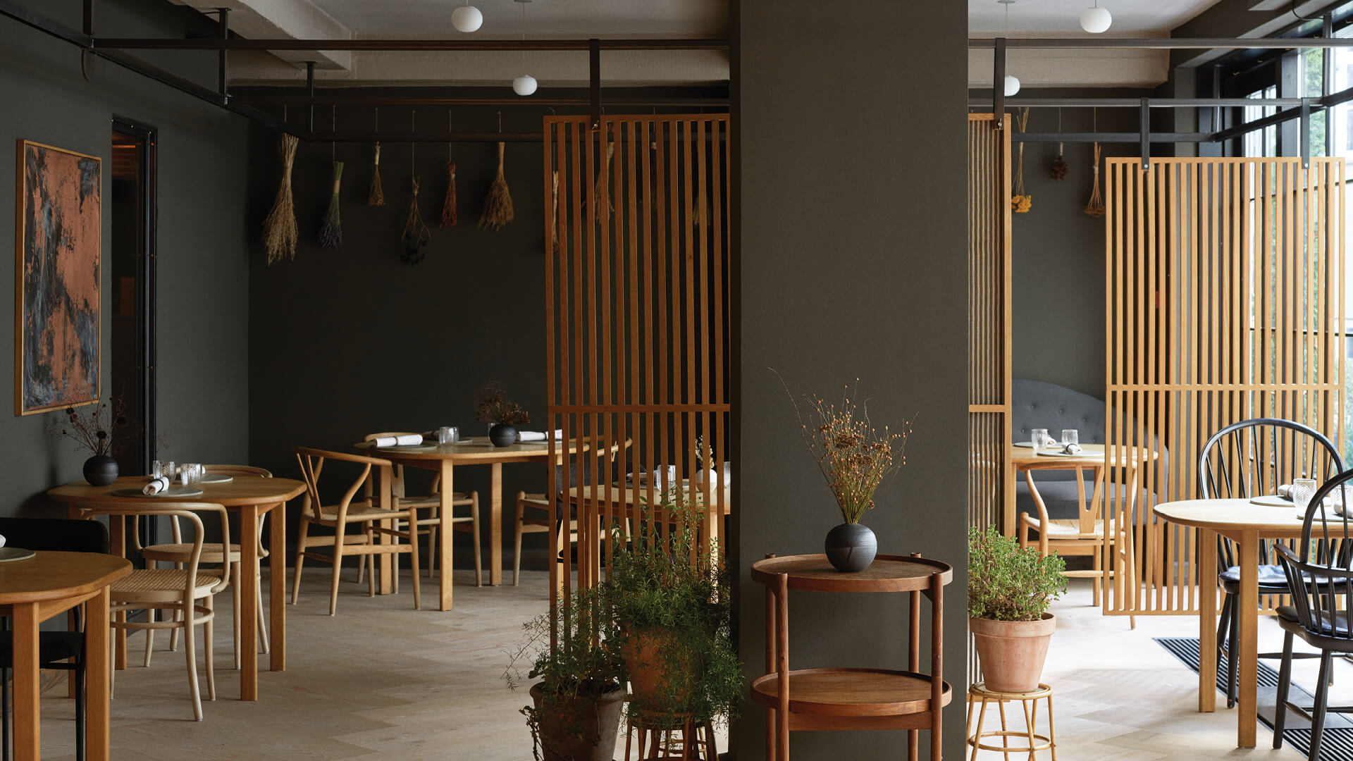 OEO Studio gives a warm makeover to Kadeau restaurant in Copenhagen