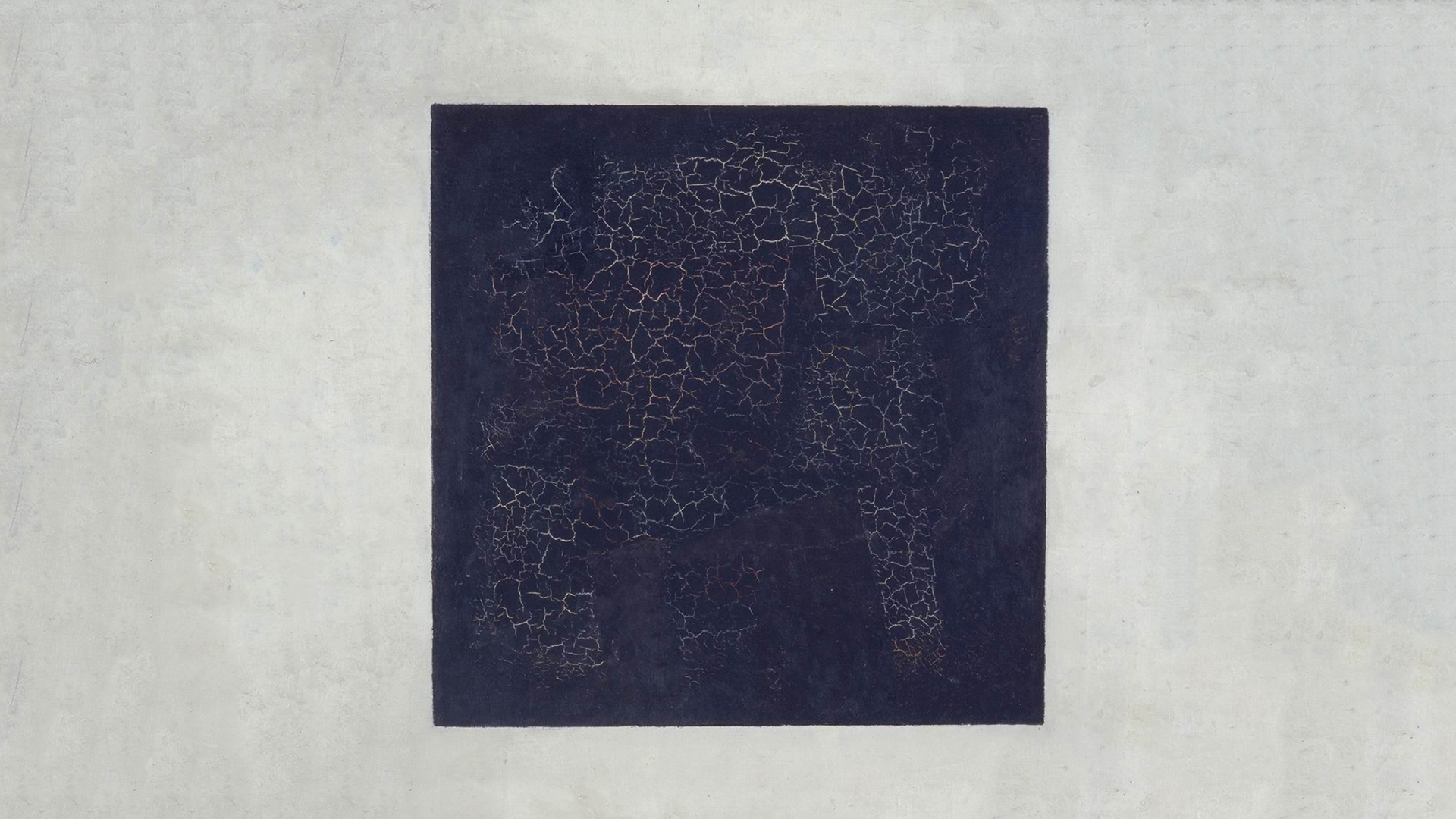 Kazimir Malevich, 1915, Black Suprematic Square, oil on linen canvas, 79.5 x 79.5 cm, Tretyakov Gallery, Moscow | Black Suprematic Square | Kazimir Malevich | STIRworld