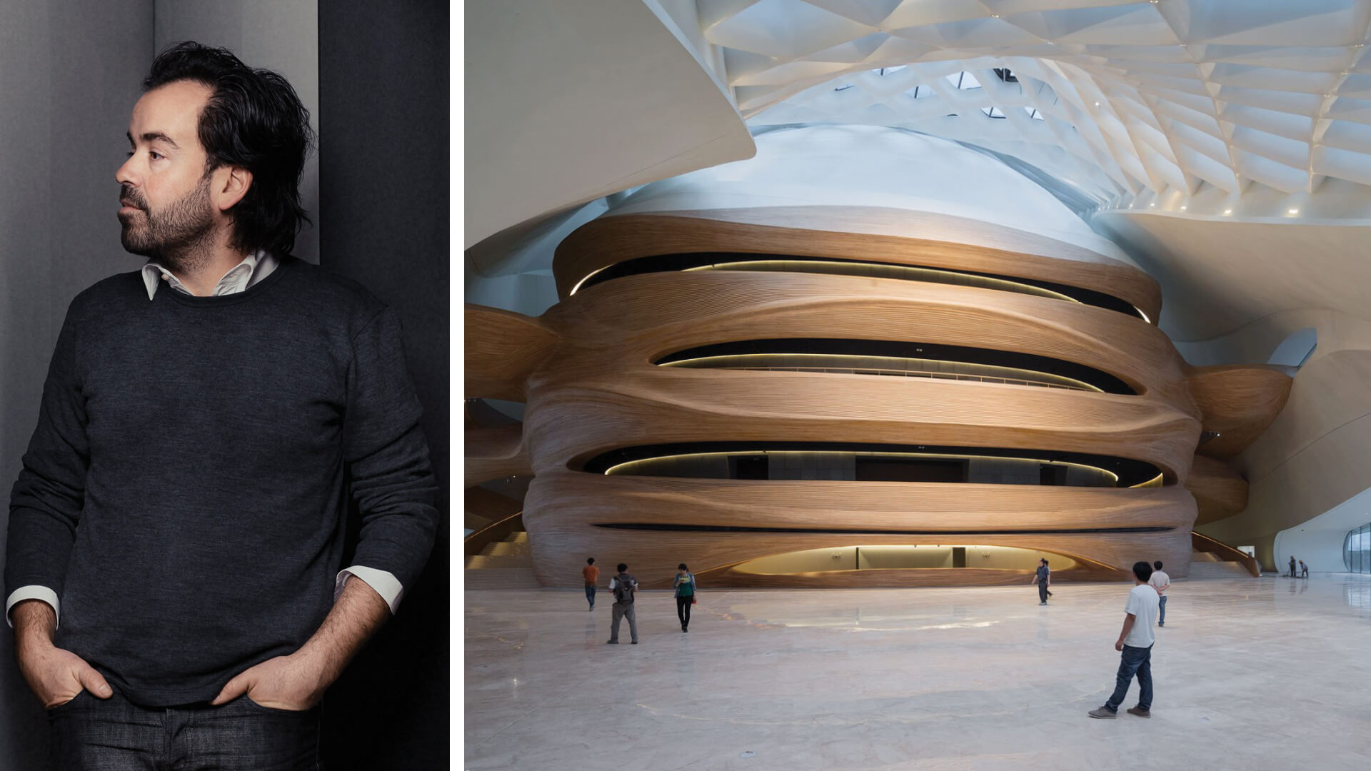 Left: Iwan Baan, Right: Harbin Opera House, Harbin, 2015 | STIRworld