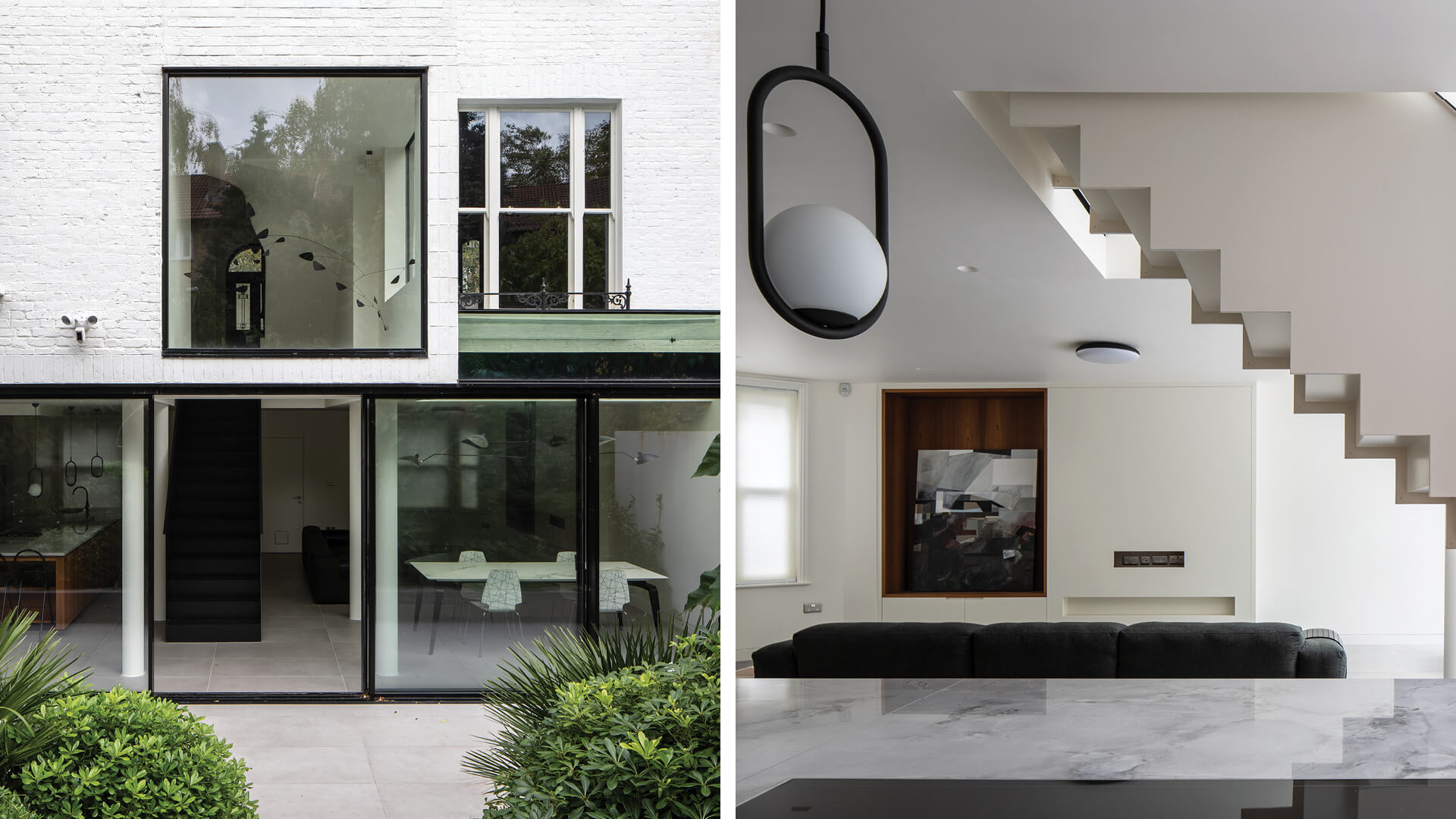 London-based Edwards Rensen Architects expertly turned a dilapidated Victorian house into a contemporary, minimalist haven with touches of the past | Cerulean by Edwards Rensen Architects | STIRworld