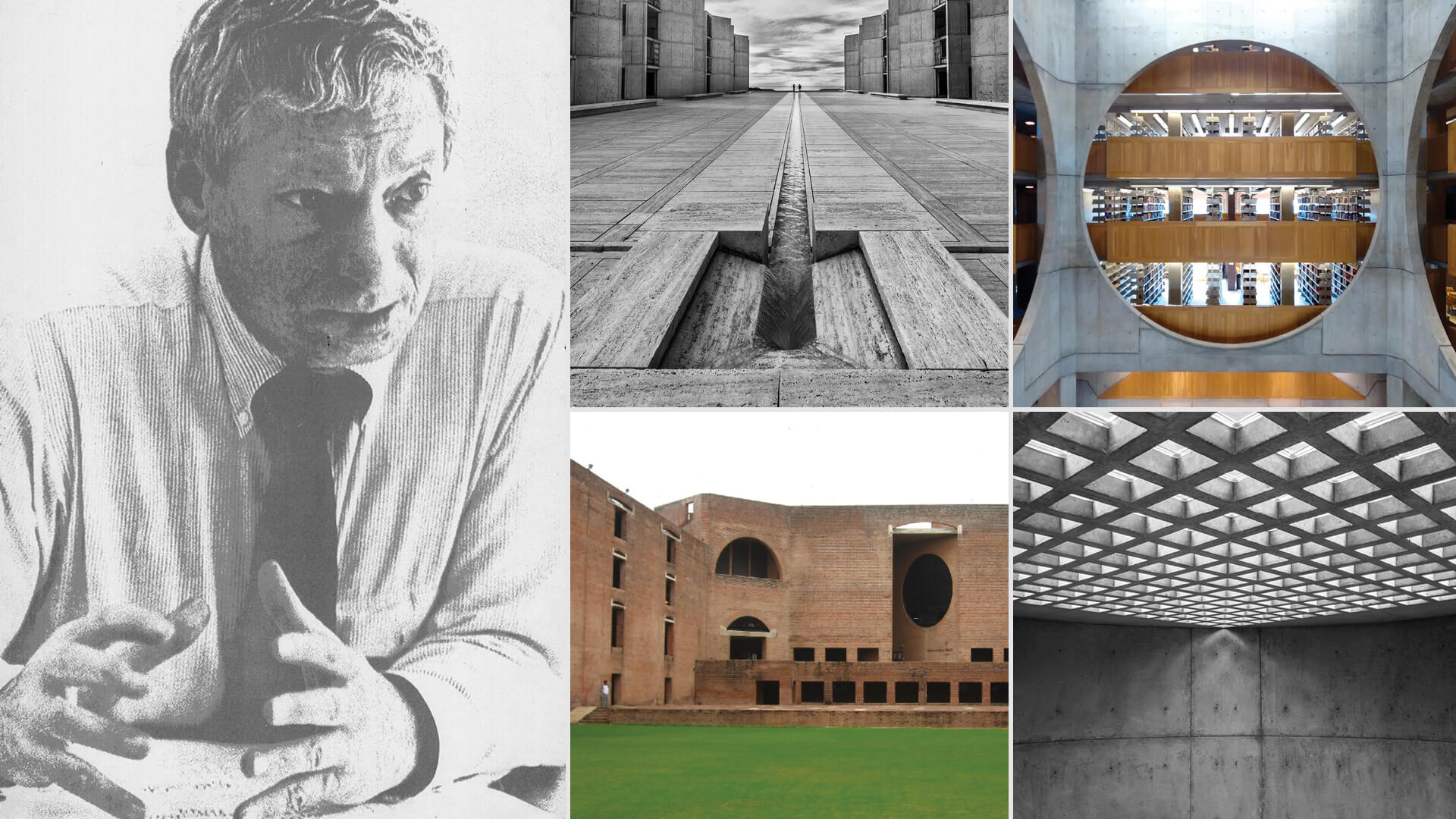 Louis Isadore Kahn (February 20, 1901 – March 17, 1974), a champion of modernist architecture globally | Louis Kahn Tribute, The Notebooks and Drawings of Louis I. Kahn | Louis Kahn, Designers and Books| STIRworld