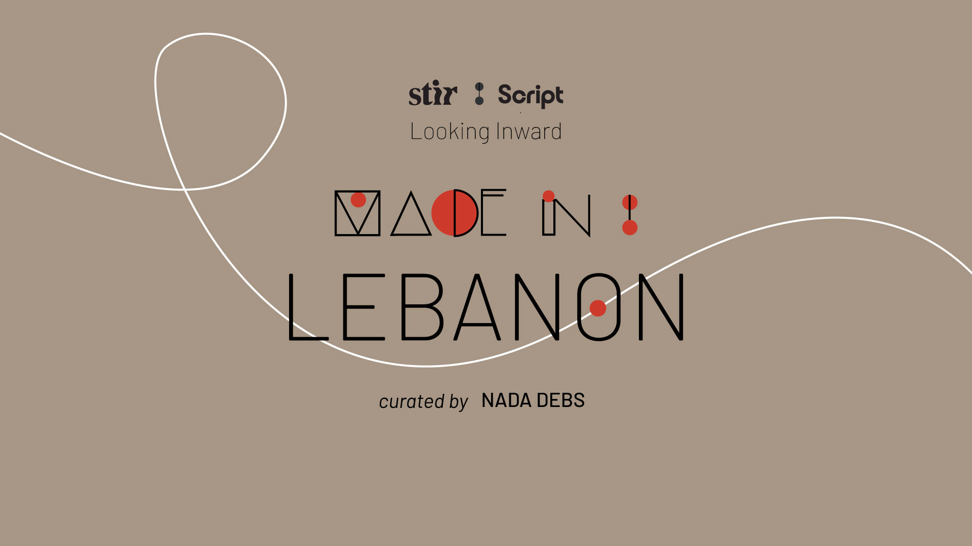 Made in Lebanon: Curated by Nada Debs | STIRworld