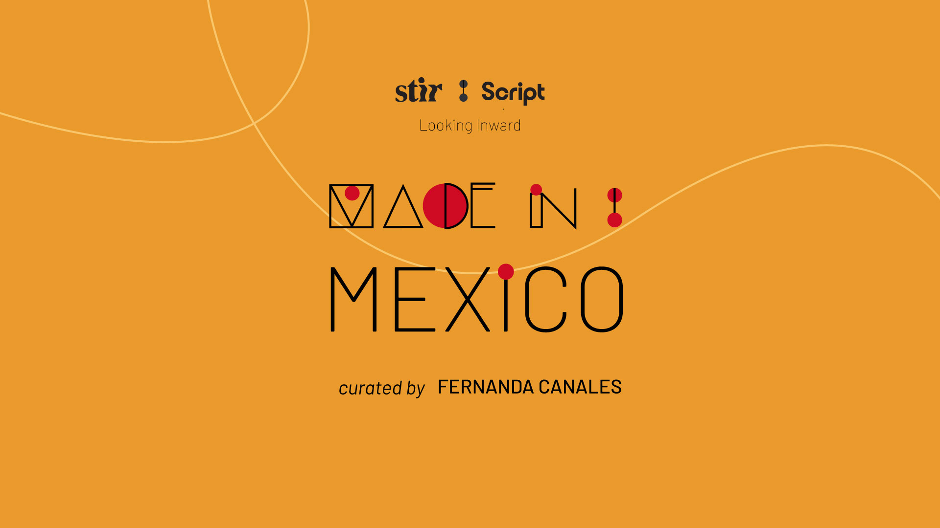 Made in Mexico: Curated by Fernanda Canales