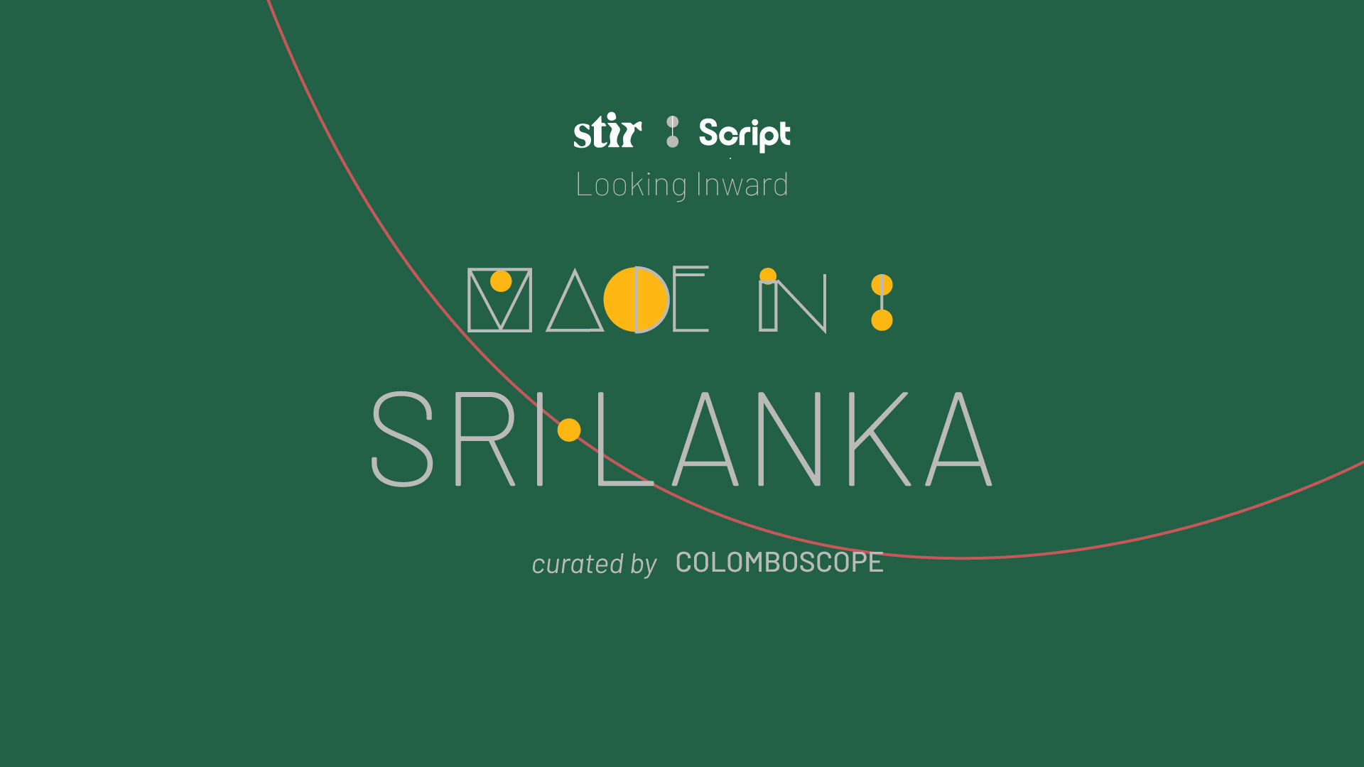 Made in Sri Lanka: Curated by Colomboscope | STIRworld