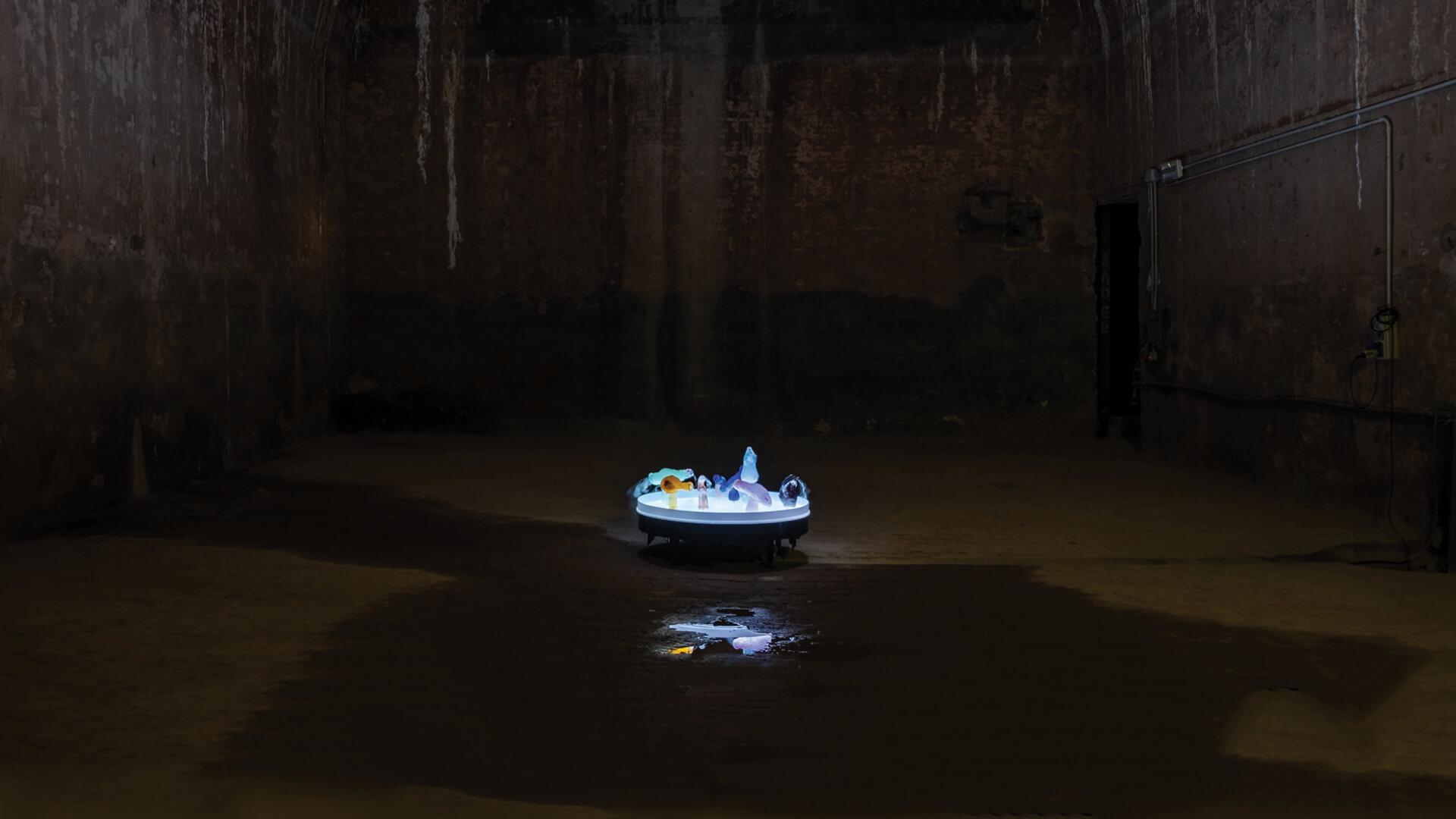 Marco Giordano, Interlude, on view at the Cisterne di Palazzo Pubblico, San Marino | Thomas Montalti| STIRworld