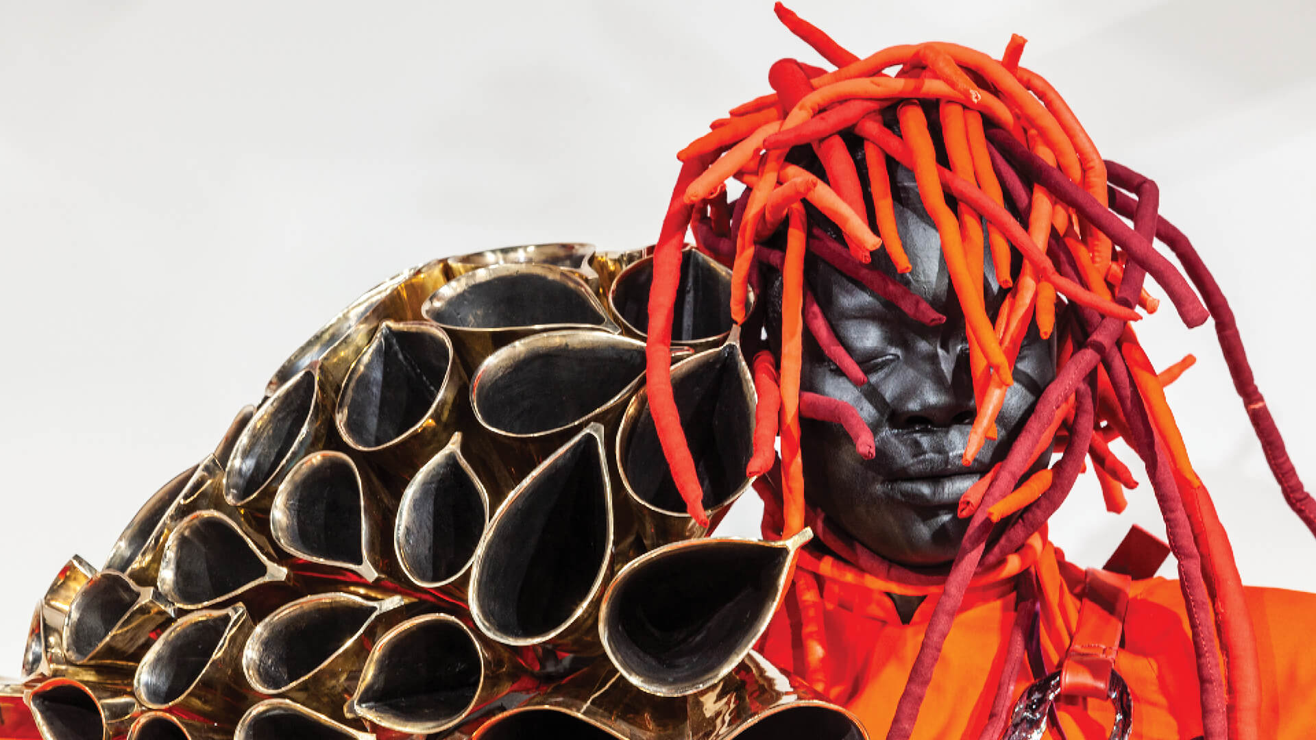 Mary Sibande, The Domba Dance, 2019, Installation view at Art Basel Miami | The Domba Dance | Mary Sibande| STIRworld