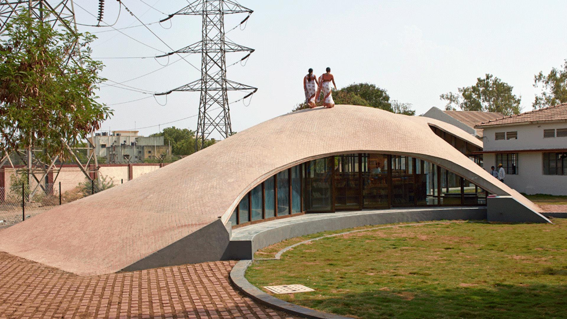 Maya Somaiya Library, Kopargaon, Maharashtra | Maya Somaiya Library | sP+a | STIRworld