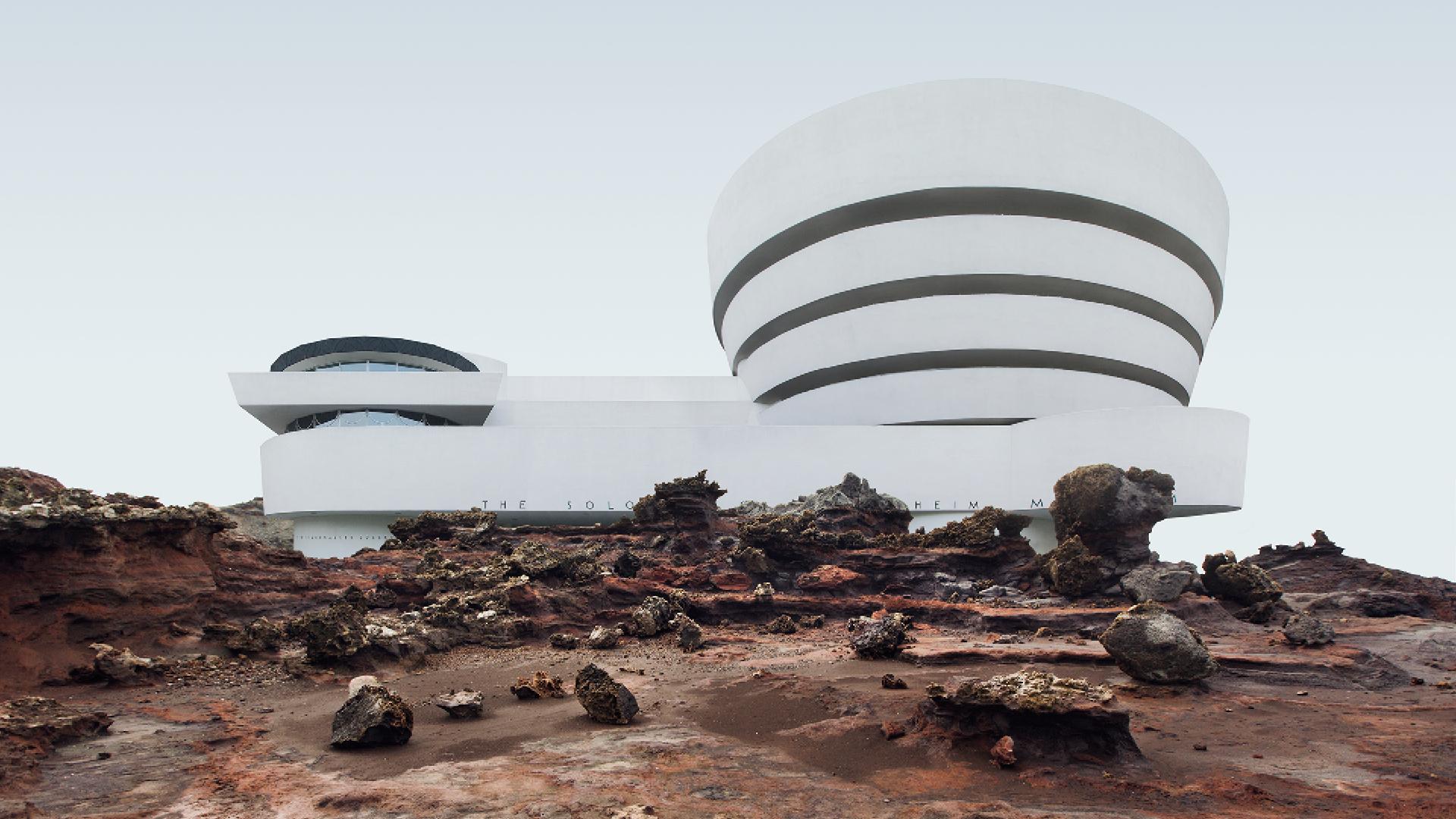 Misplaced - Solomon R. Guggenheim Museum| Misplaced Series | Anton Repponen | STIR