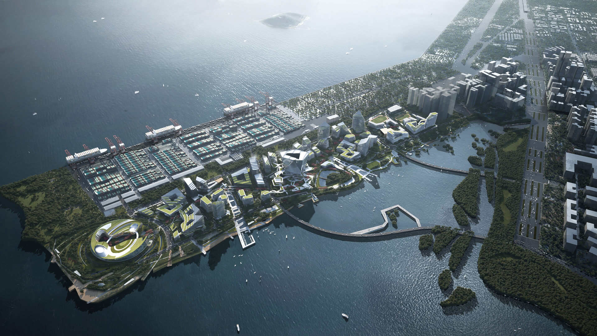 Net City in Shenzhen, China, for tech firm Tencent to be designed by NBBJ | Net City by Tencent | NBBJ | STIRworld