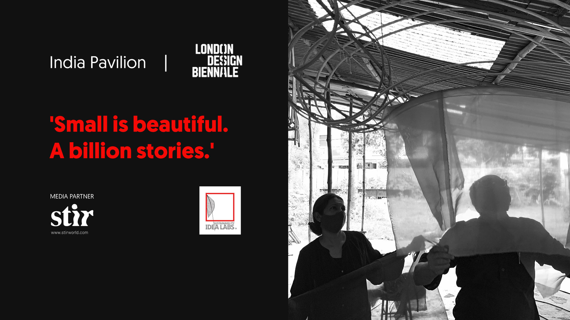 A conversation with the creatives behind 'Small is Beautiful' at LDB 2021