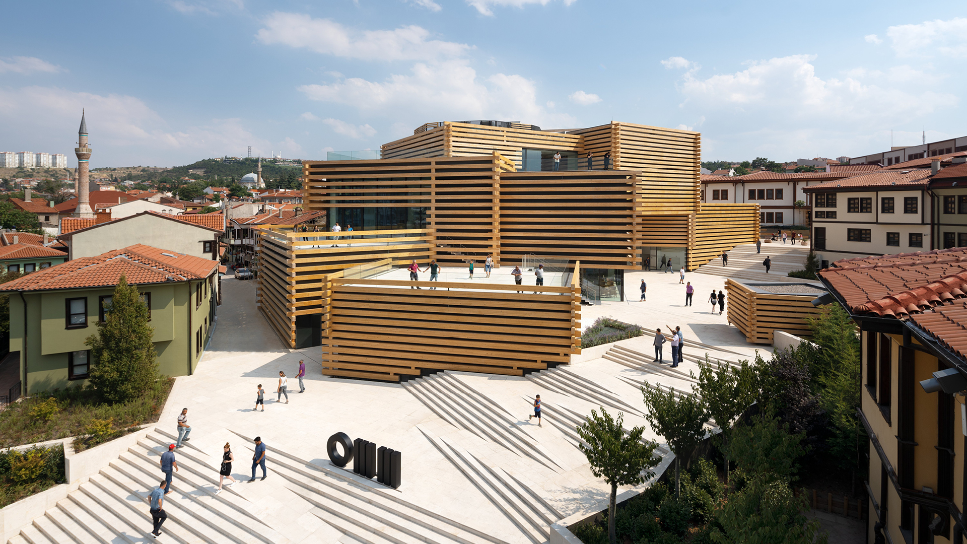 Odunpazari Modern Museum in Eskisehir by Kengo Kuma and Associates | Odunpazari Modern Museum| Kengo Kuma and Associates | STIR