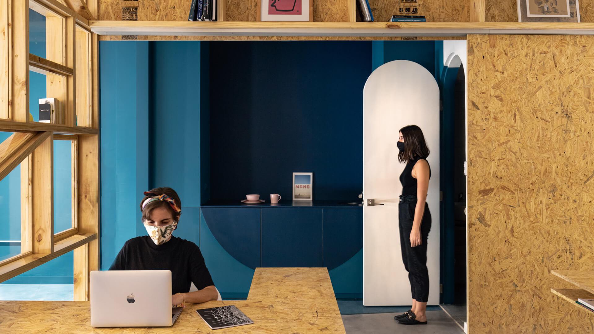 Oriented Fibres office designed by Ecuadorian architects Juan Alberto Andrade and María José Váscones | Fibras Orientadas interior office designed by Juan Alberto Andrade and María José Váscones | STIRworld