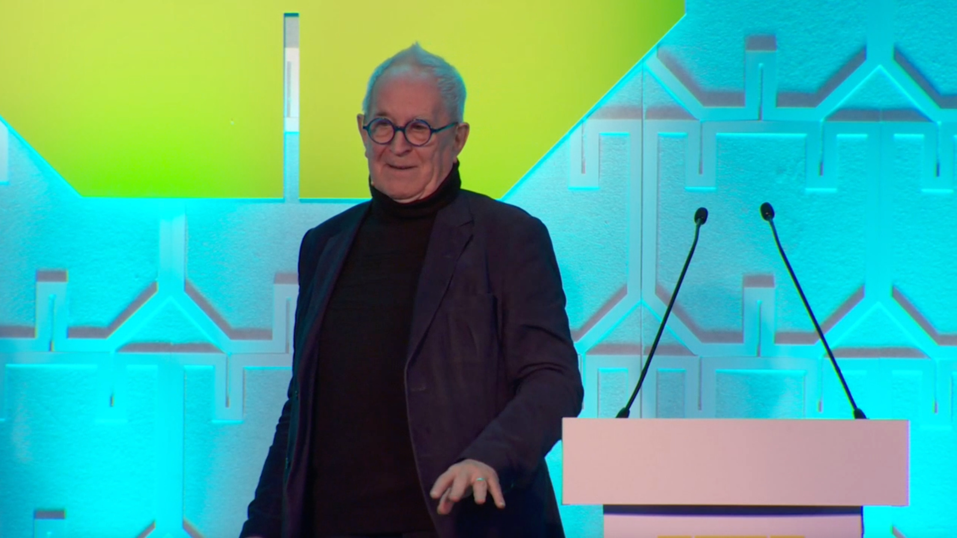 Peter Cook at the World Architecture Festival in Amsterdam | STIRworld