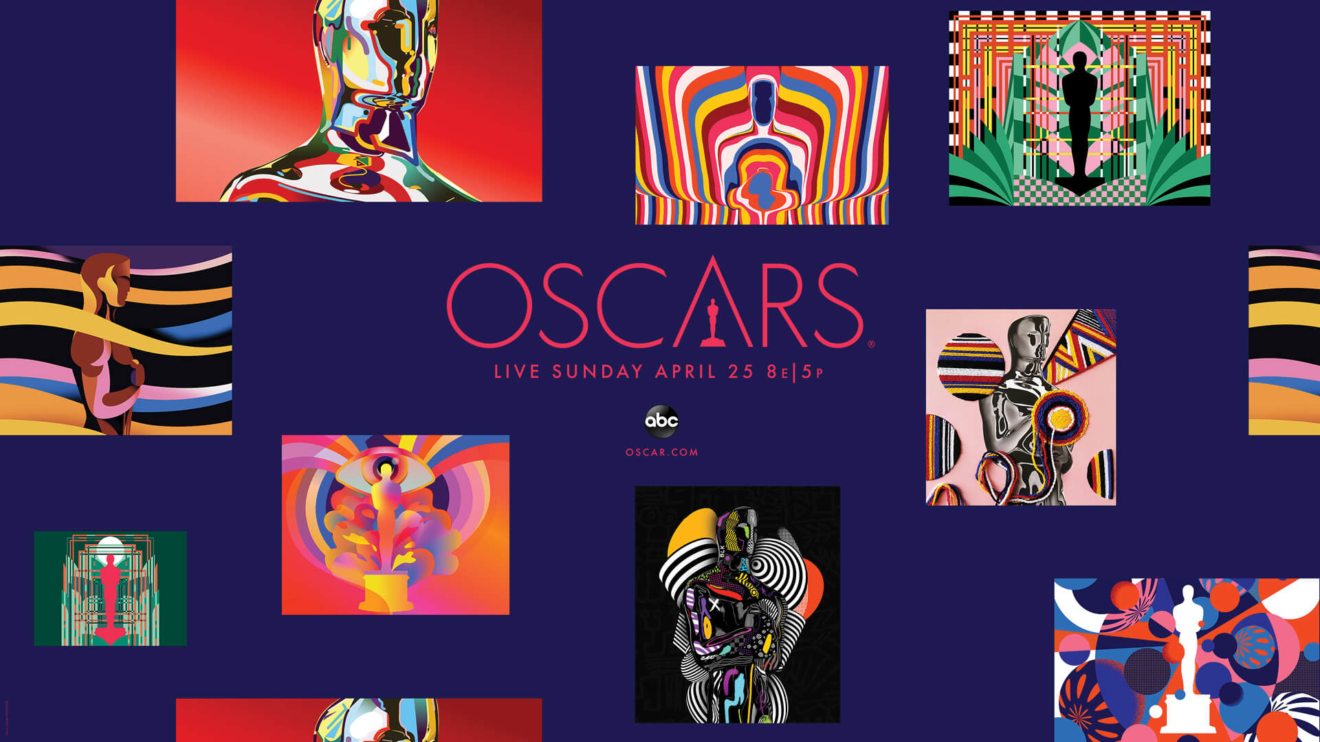 Art at the Oscars: the campaign artists behind the graphics of 2021 ceremony