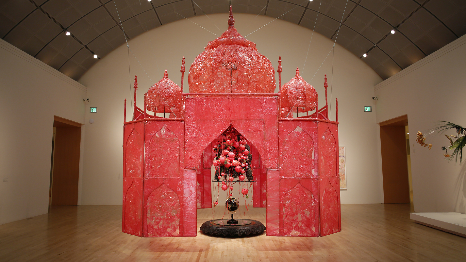 Rina Banerjee, Installation view of Take me, take me, take me...to the Palace of love, 2003 | Make Me a Summary of the World | Rina Banerjee | STIR