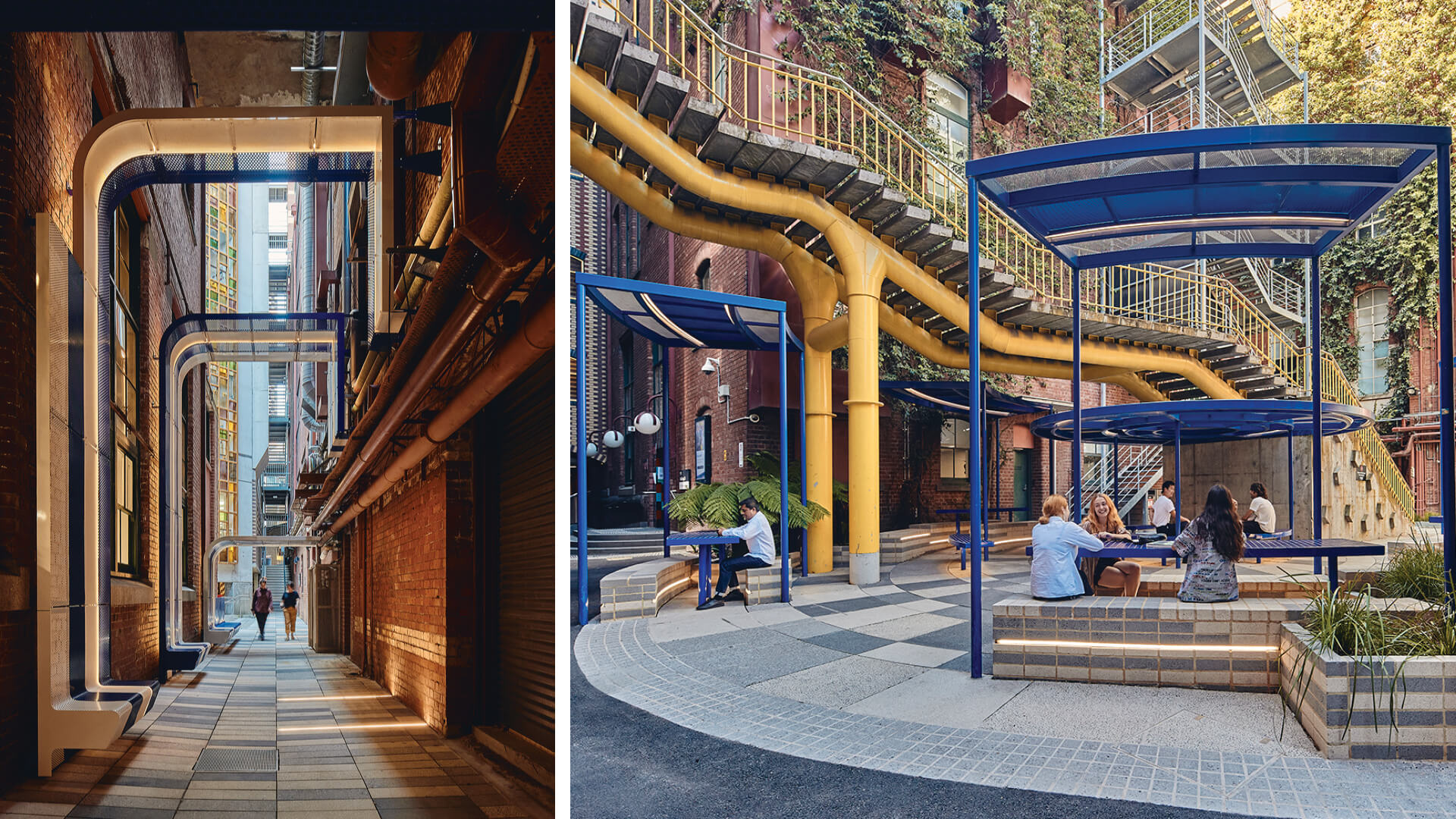 Sibling Architecture extends the fabric of Melbourne into RMIT University campus