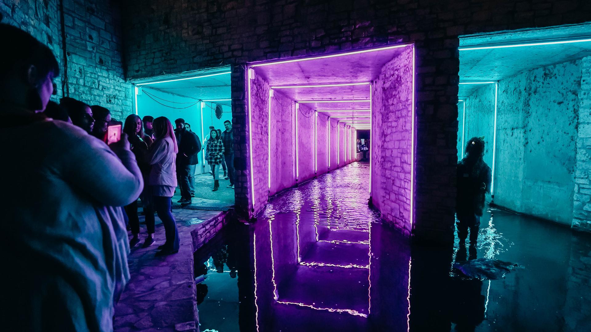 Sara Strick, installation image, Creek Show 2018| Creek Show 2019 | STIRworld