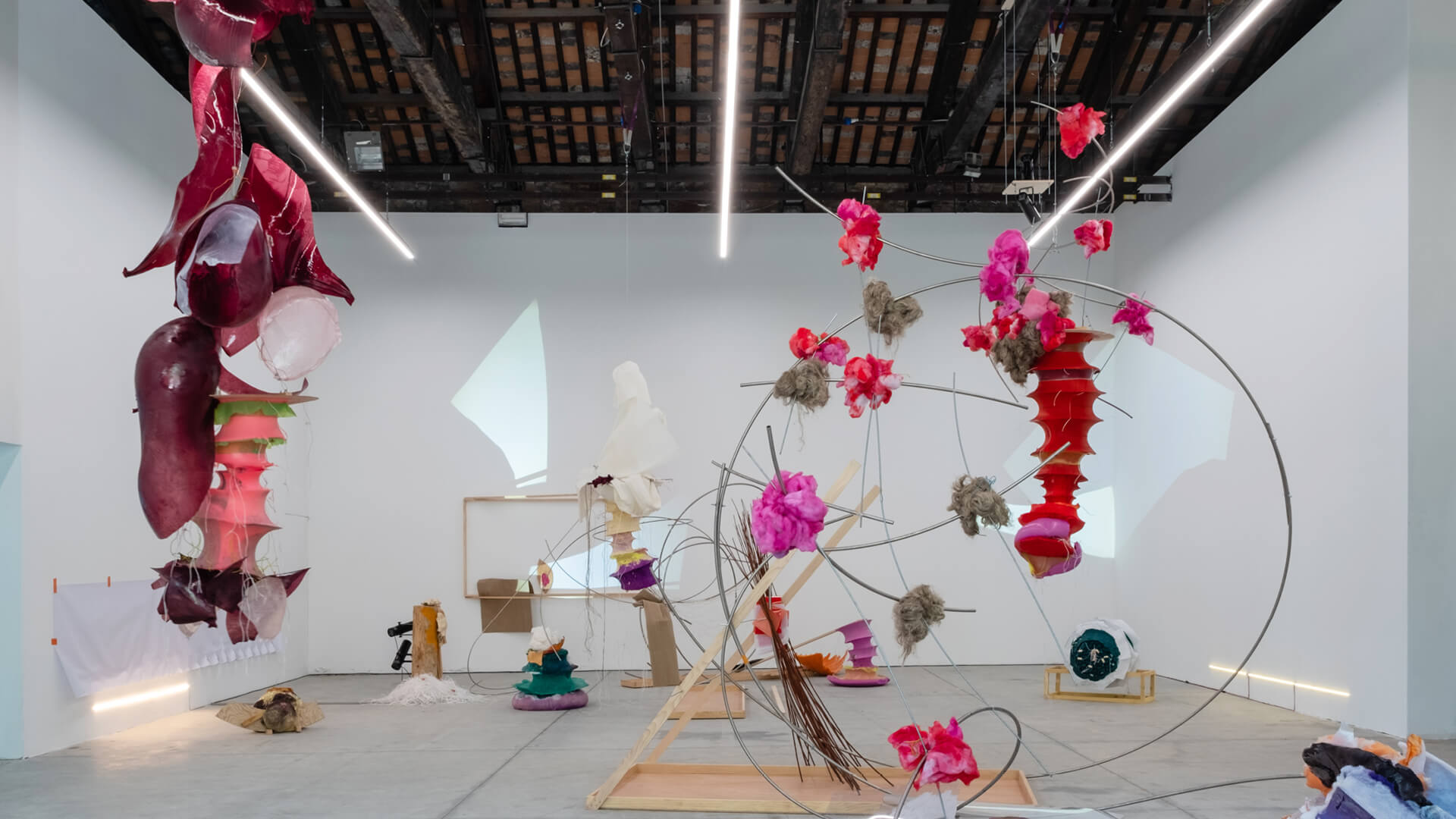 Saules Suns by Daiga Grantina, on display at the 2019 Venice Biennale at the Latvian Pavilion | What Eats Around Itself | Daiga Grantina | STIRworld