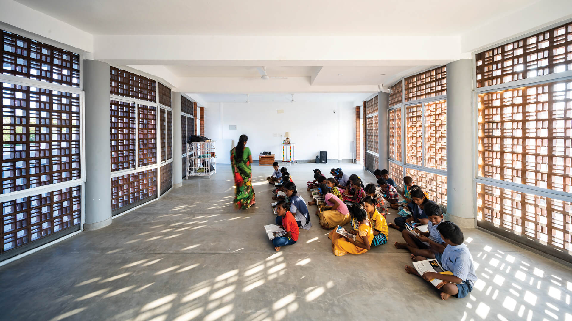 Sharana Daycare Facility designed by Anupama Kundoo Architects in Pondicherry, Tamil Nadu, India| Sharana Daycare Facility | Anupama Kundoo Architects | STIRworld