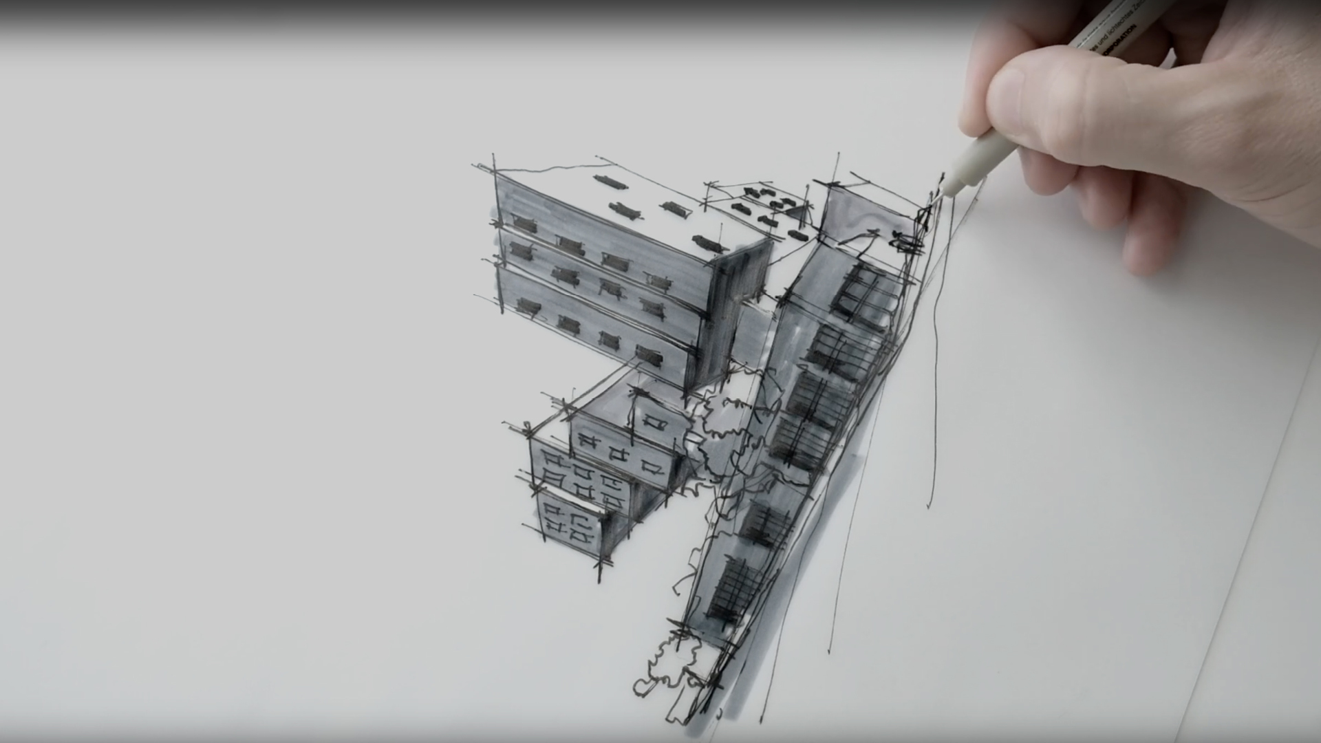 Sketching Michael Maltzan's Prefab Star Apartments | Dan Hogman | STIRworld
