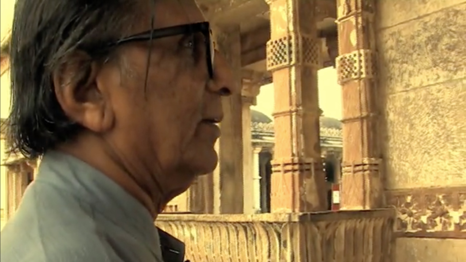 Still from the film 'Doshi: Chapter 8 - So what is our heritage?'  | BV Doshi | Bijoy Ramachandran| STIR