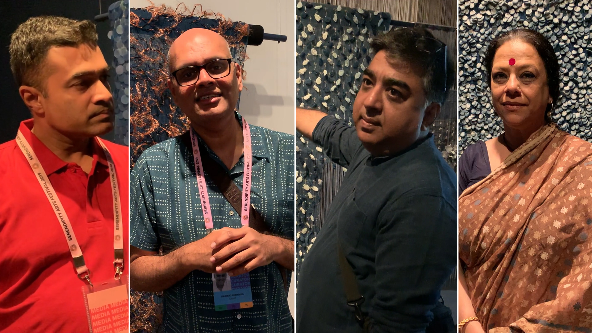 STIR conversations at SAF'19, Part 1 | Weftscape at Serendipity Arts Festival 2019 | Bappaditya Biswas and Pramod Kumar HG| STIRworld
