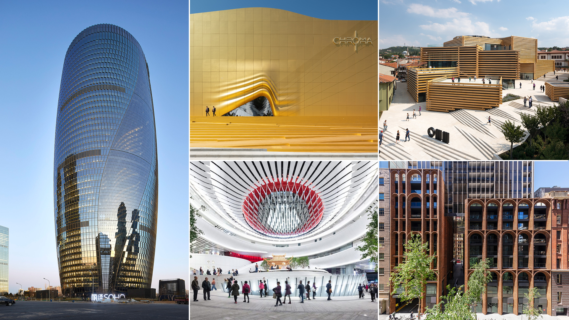Building façades that STIRred 2019