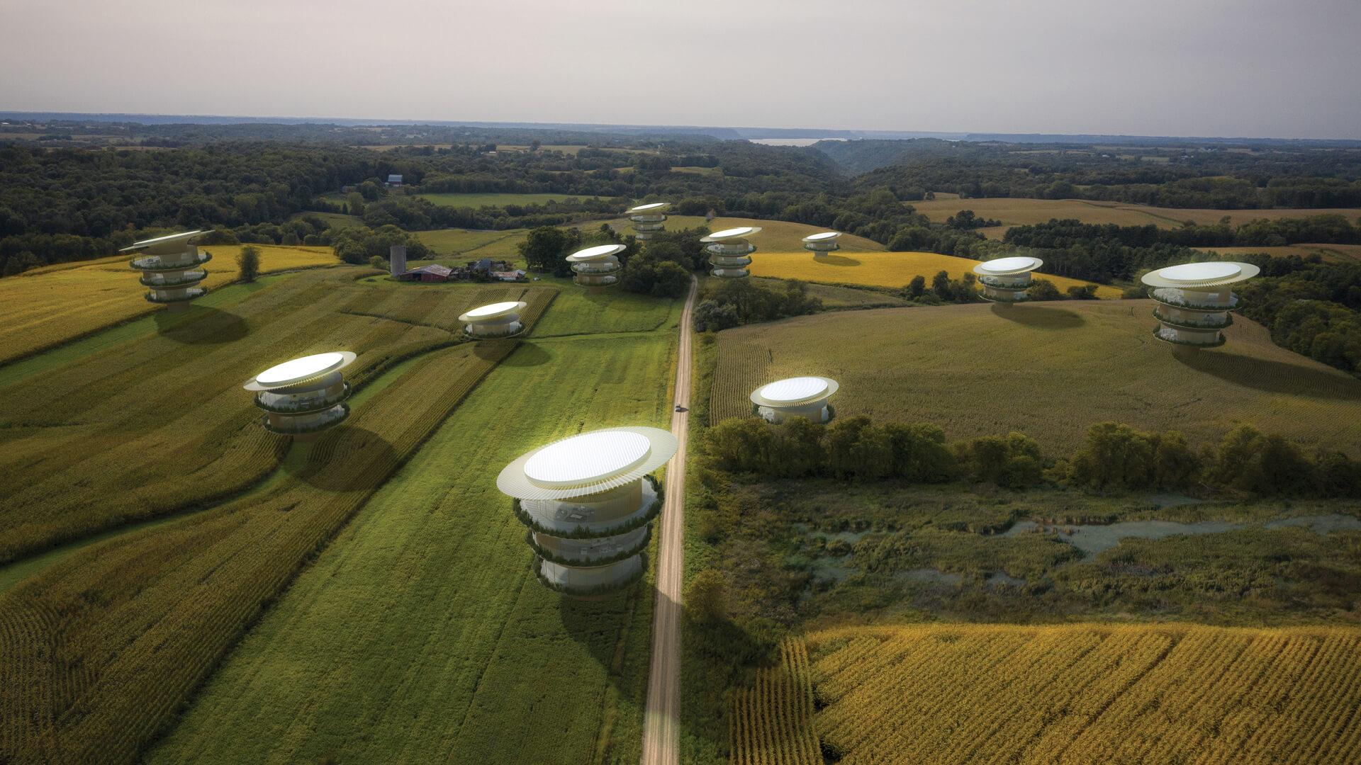 Koichi Takada architects showcase a future where form follows nature