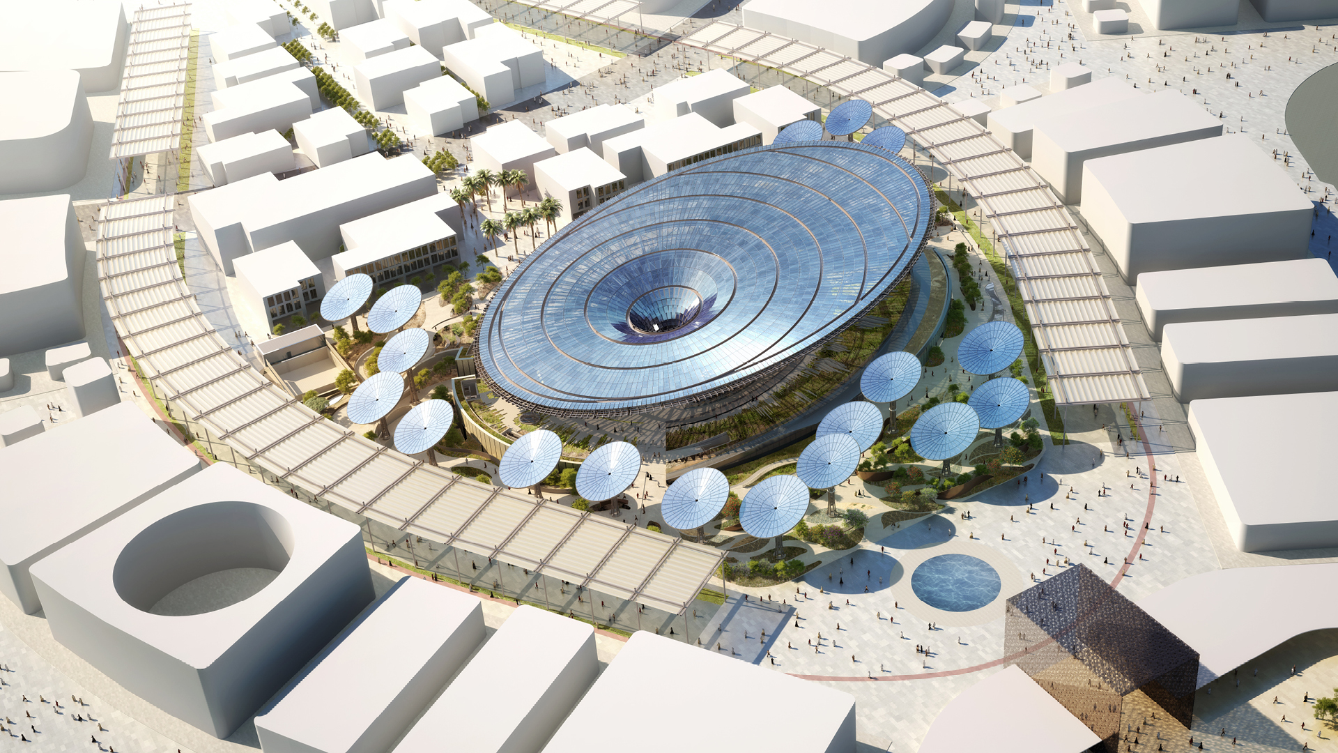Sustainability Pavilion designed by Grimshaw Architects | Sustainability | Pavilion | Expo 2020| Dubai| STIRworld