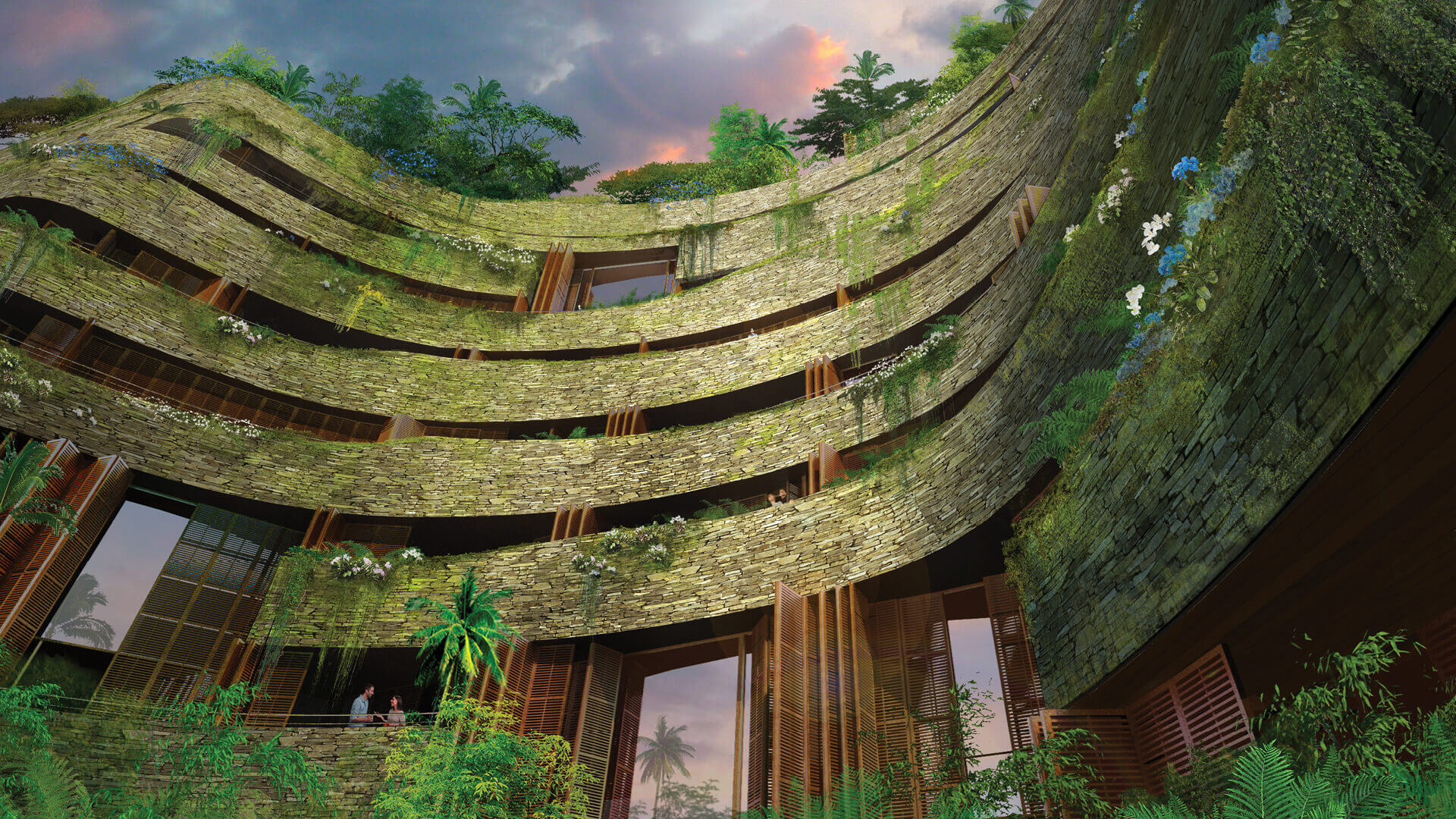 The Aquarela Complex in Ecuador | Aquarela by Ateliers Jean Nouvel | STIRworld