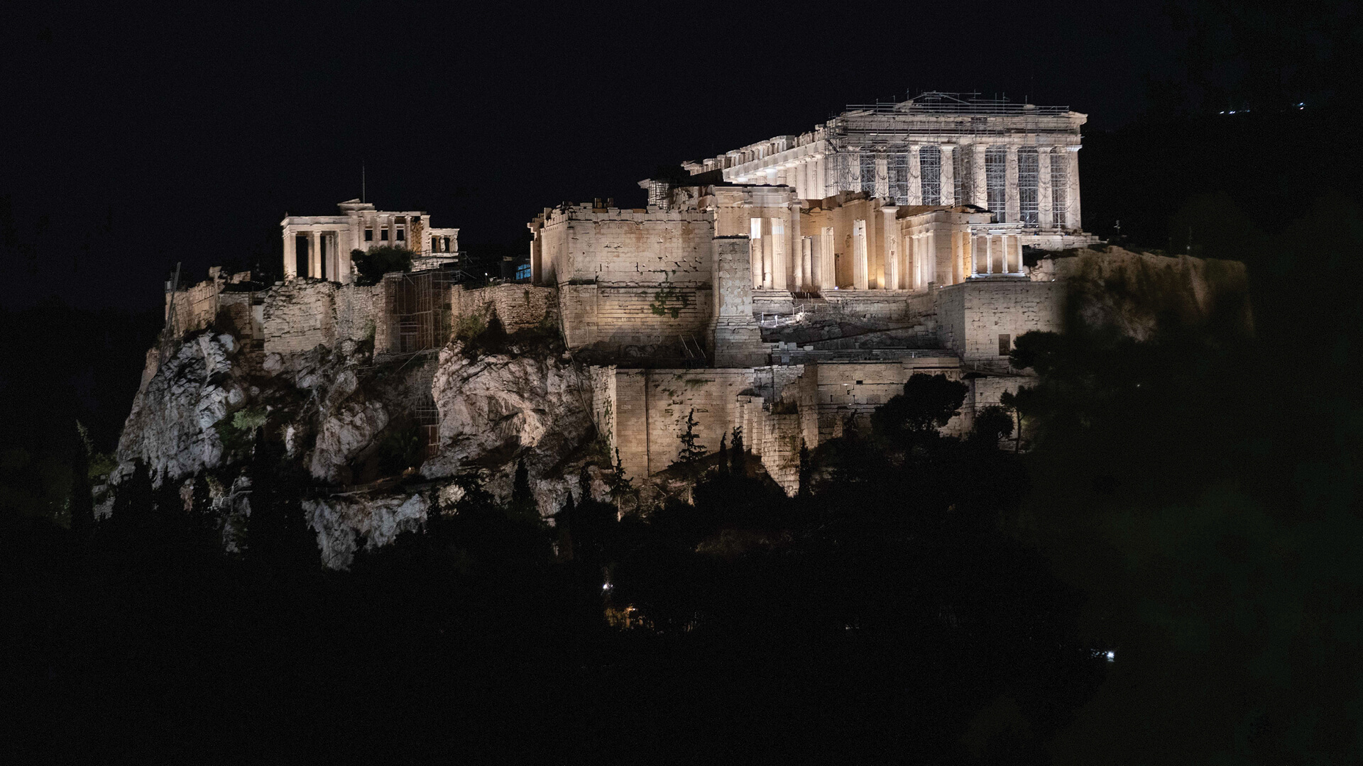 The Athenian Acropolis sits on the top of a limestone ridge that cuts through the Attica plateau | Acropolis of Athens by Onassis Foundation designed by Eleftheria Deko | STIRworld