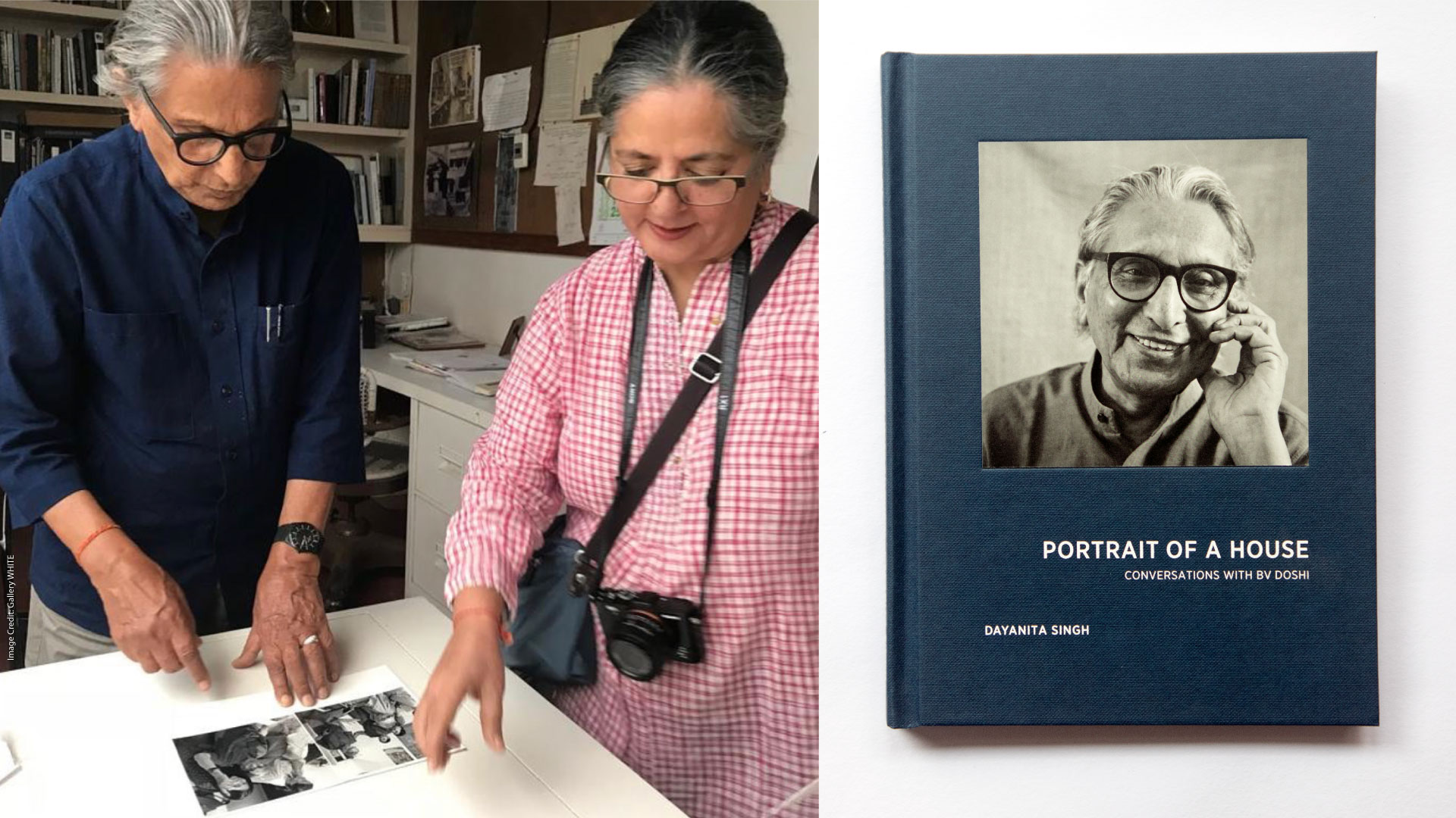 The book, authored by Dayanita Singh, relates the life of the house built by Pritzker Architecture Prize laureate BV Doshi | Portrait of a House: Conversations with BV Doshi by Dayanita Singh | STIRworld