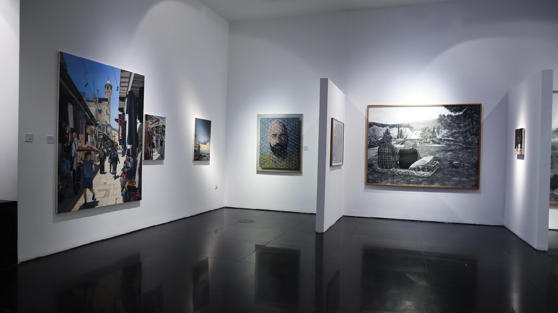 Michael Halak and Samah Shihadi tell tales of their land through a hyperrealist lens