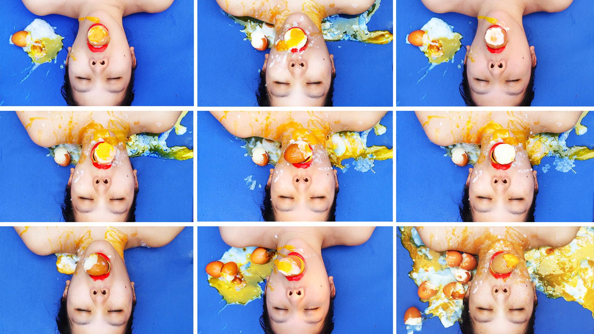 The Egg Holder, video still |Video art by artist Kawita Vatanajyankur | STIRworld