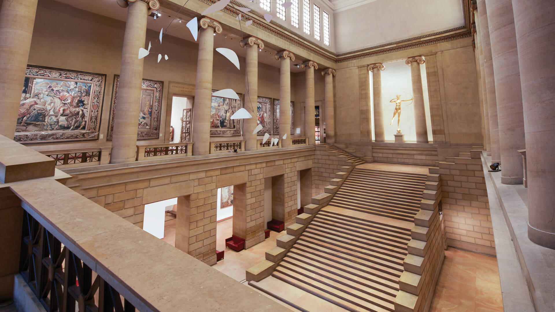 The Great Stair Hall | The Philadelphia Museum of Art | Frank Gehry | STIRworld