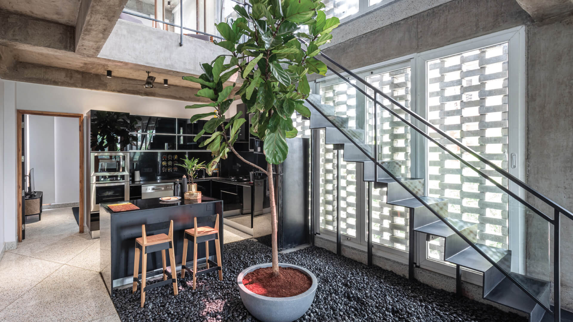A concrete oasis in a concrete desert: The House in 1970 by Architects Collaborative