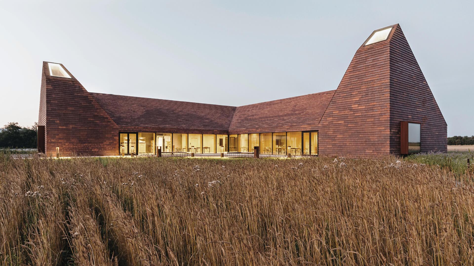 RRA reinterprets baking kilns into light wells in Denmark's 'House of Grain'