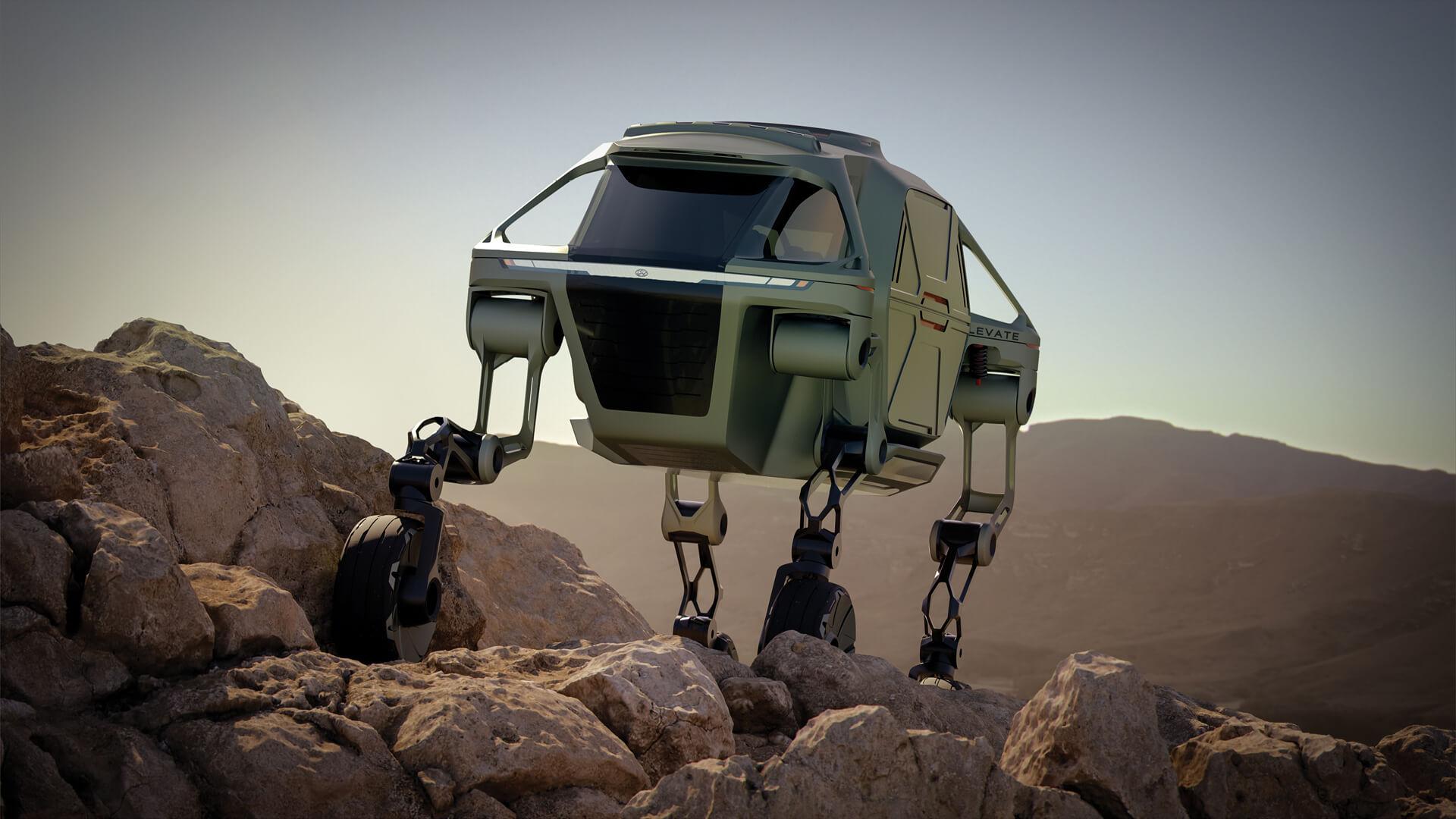 The Hyundai Elevate concept UMV | New Horizons Studios by Hyundai Motor Group | STIRworld