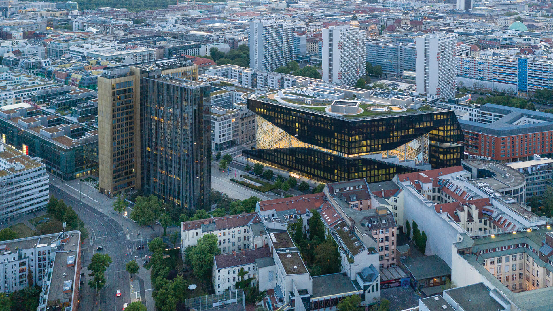 The new Axel Springer building in Berlin desgned by OMA | STIRworld